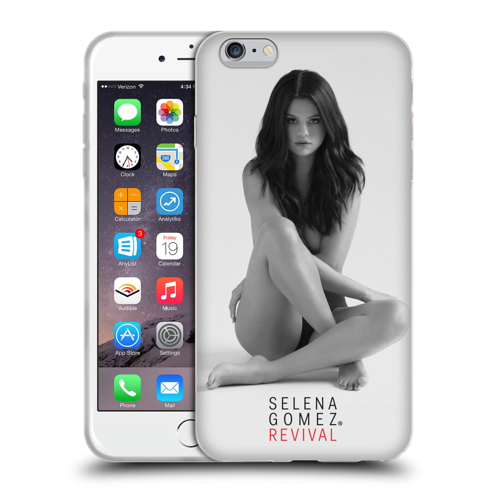 HEAD CASE silikonový obal na mobil Apple Iphone 6/6S PLUS Zpěvačka Selena Gomez foto Revival