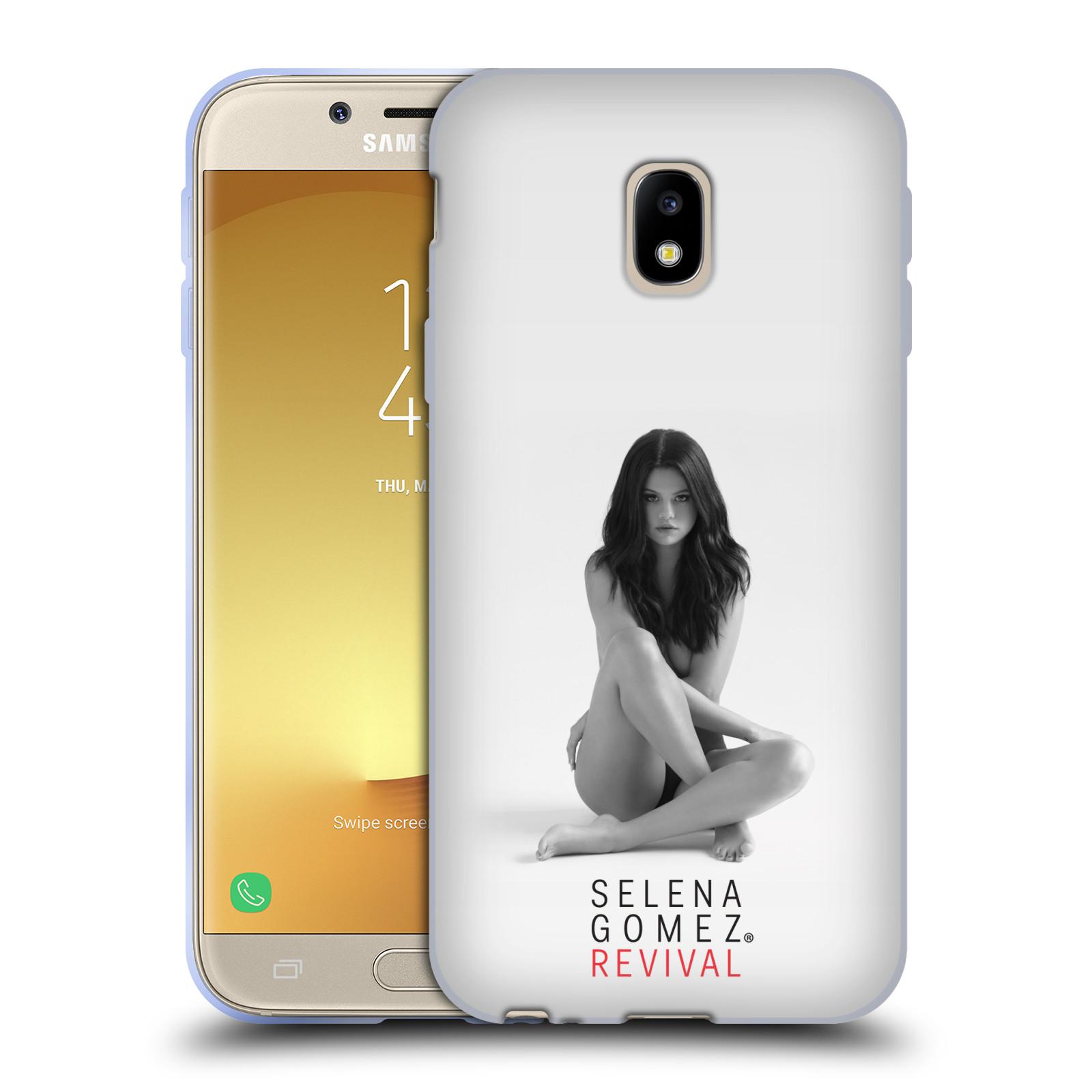 HEAD CASE silikonový obal na mobil Samsung Galaxy J3 2017 (J330, J330F) Zpěvačka Selena Gomez foto Revival