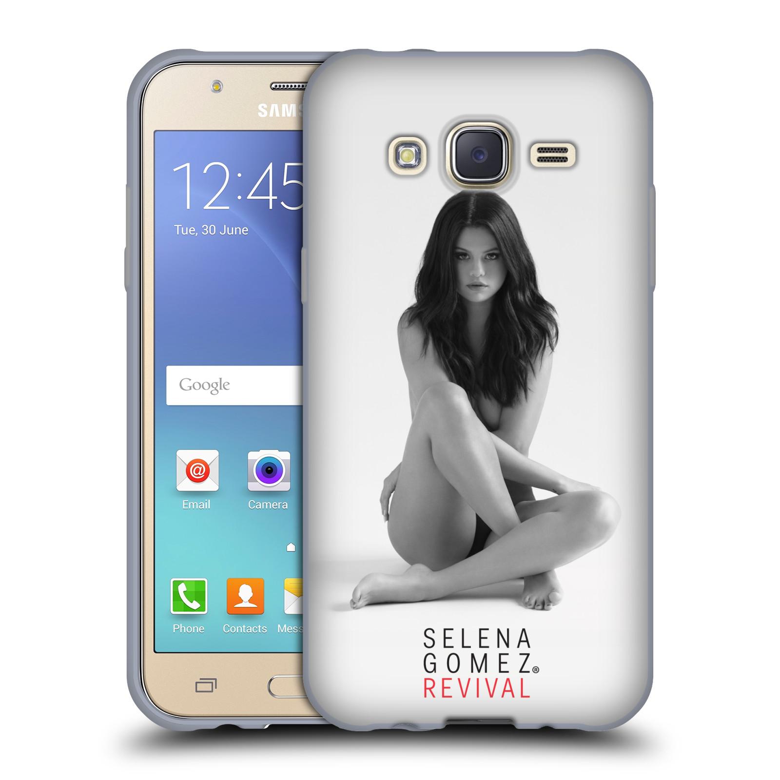 HEAD CASE silikonový obal na mobil Samsung Galaxy J5 2015 (J500) Zpěvačka Selena Gomez foto Revival