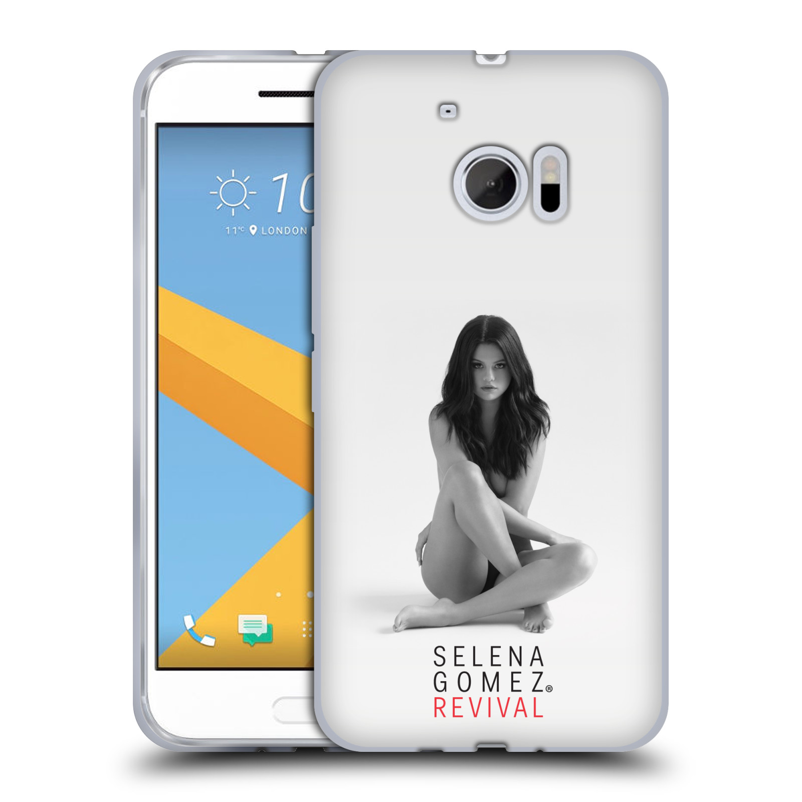 HEAD CASE silikonový obal na mobil HTC 10 Zpěvačka Selena Gomez foto Revival