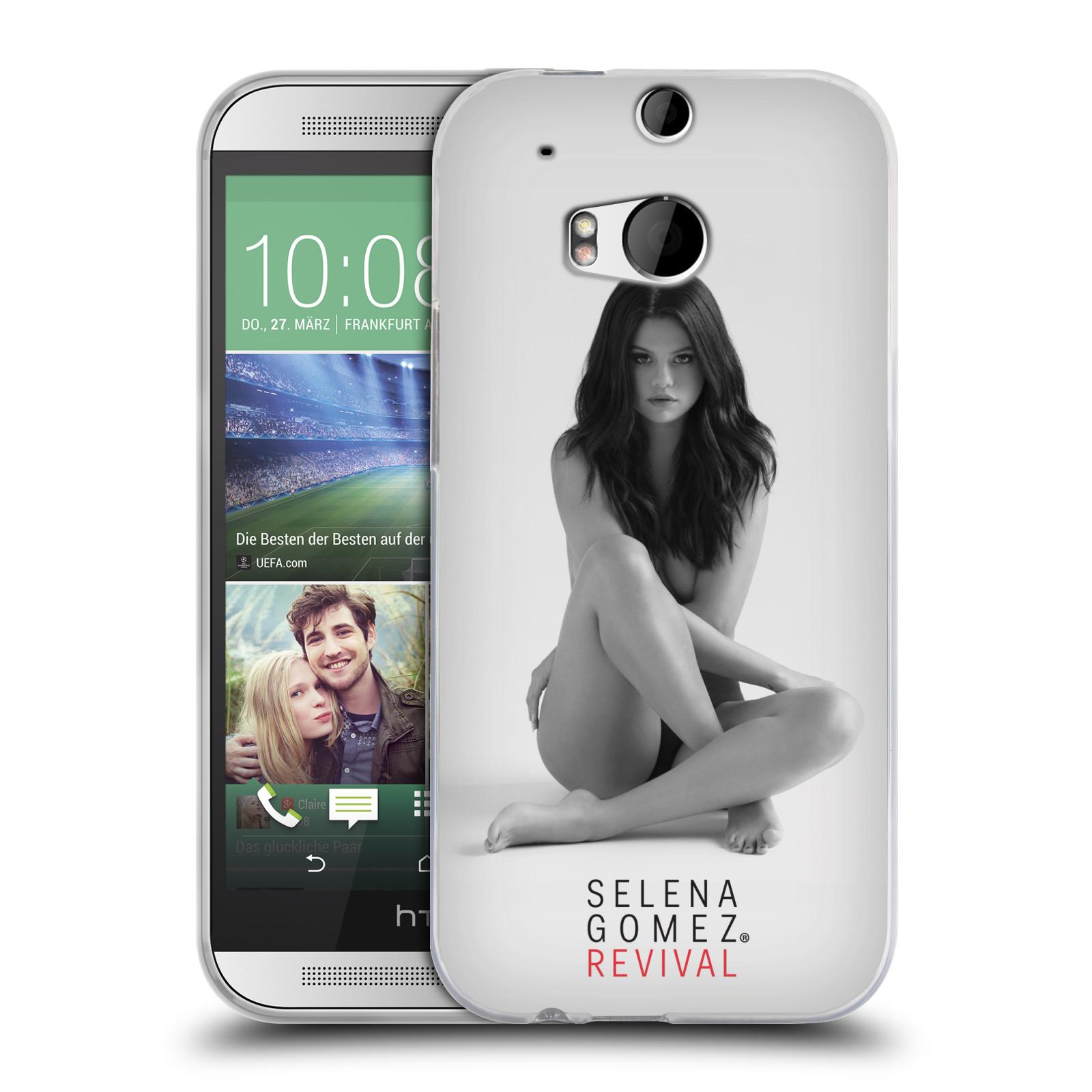 HEAD CASE silikonový obal na mobil HTC one M8 / M8s Zpěvačka Selena Gomez foto Revival