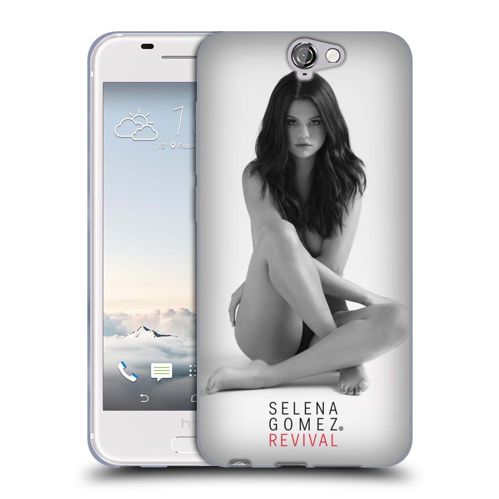 HEAD CASE silikonový obal na mobil HTC One A9 Zpěvačka Selena Gomez foto Revival