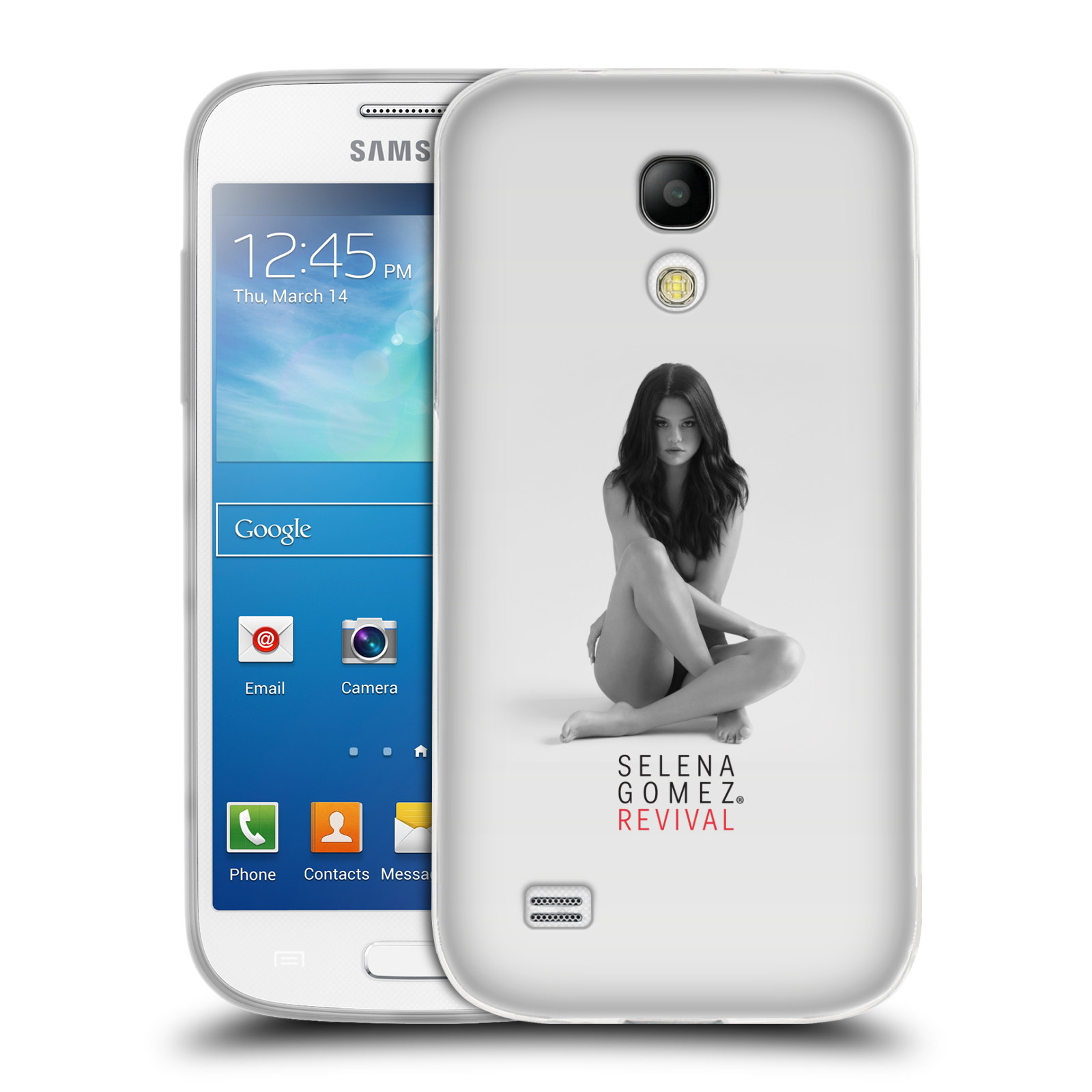 HEAD CASE silikonový obal na mobil Samsung Galaxy S4 MINI Zpěvačka Selena Gomez foto Revival
