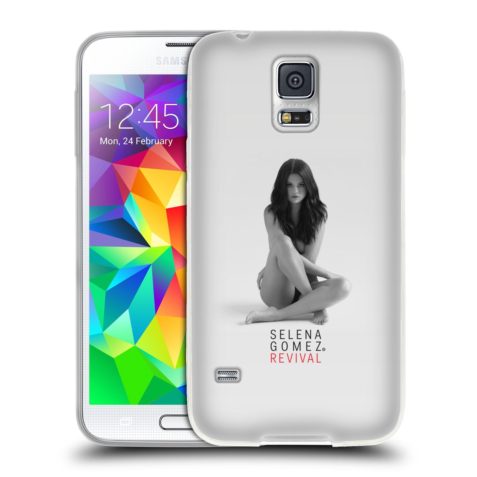 HEAD CASE silikonový obal na mobil Samsung Galaxy S5 Zpěvačka Selena Gomez foto Revival