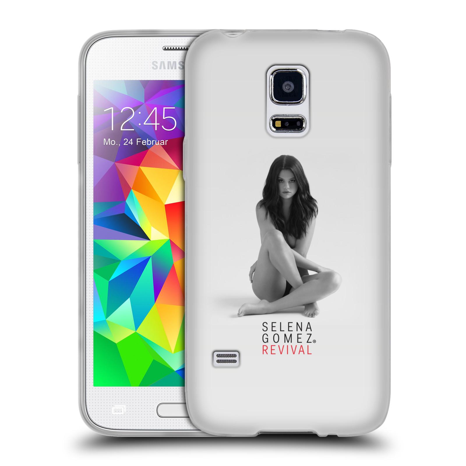 HEAD CASE silikonový obal na mobil Samsung Galaxy S5 MINI Zpěvačka Selena Gomez foto Revival