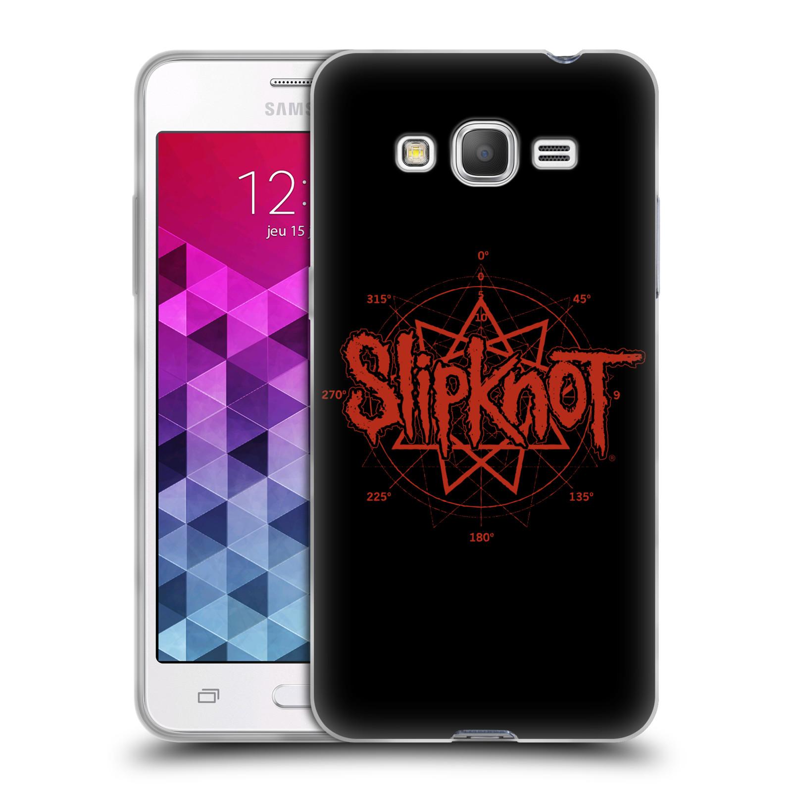 HEAD CASE silikonový obal na mobil Samsung Galaxy Grand Prime hudební skupina Slipknot logo