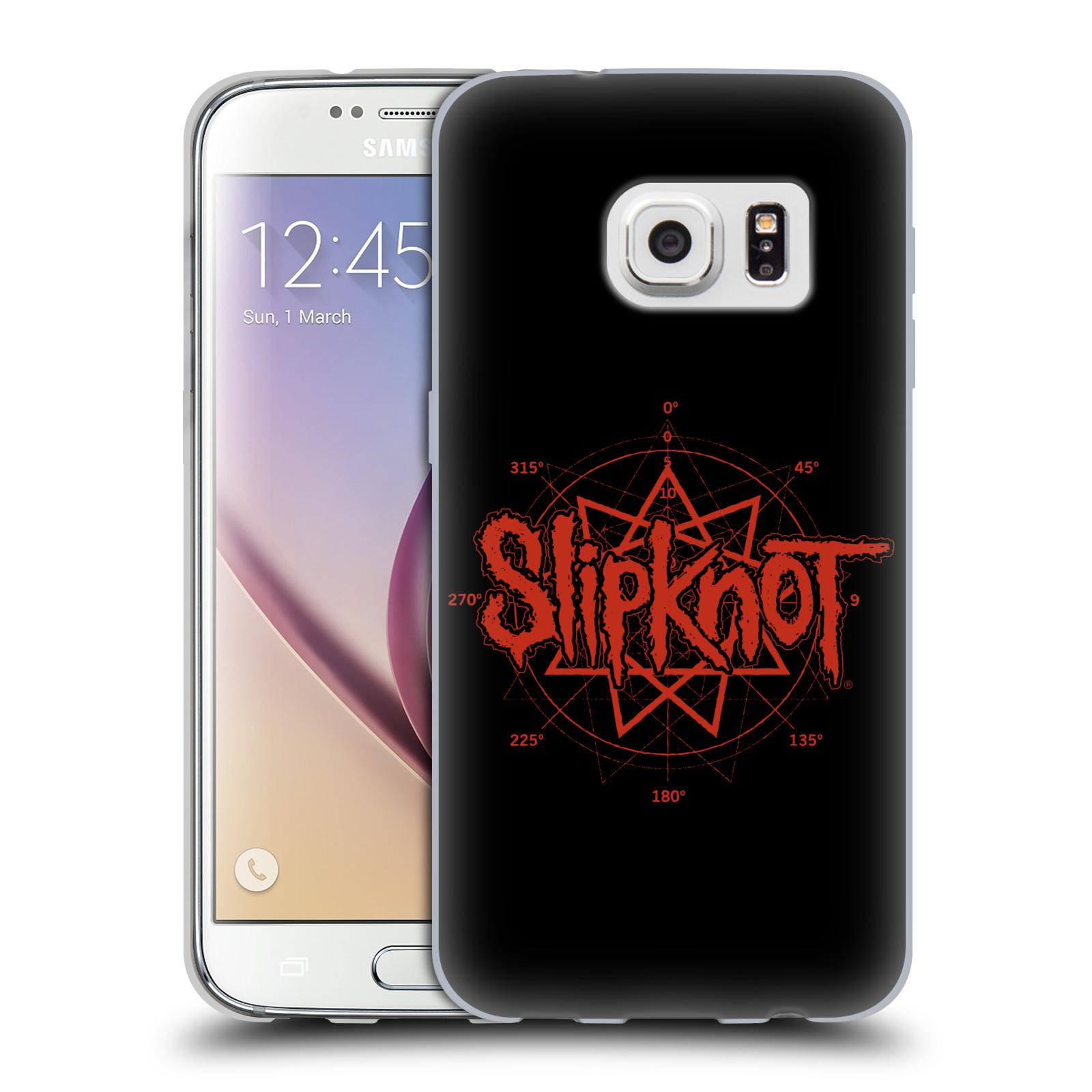 HEAD CASE silikonový obal na mobil Samsung Galaxy S7 hudební skupina Slipknot logo