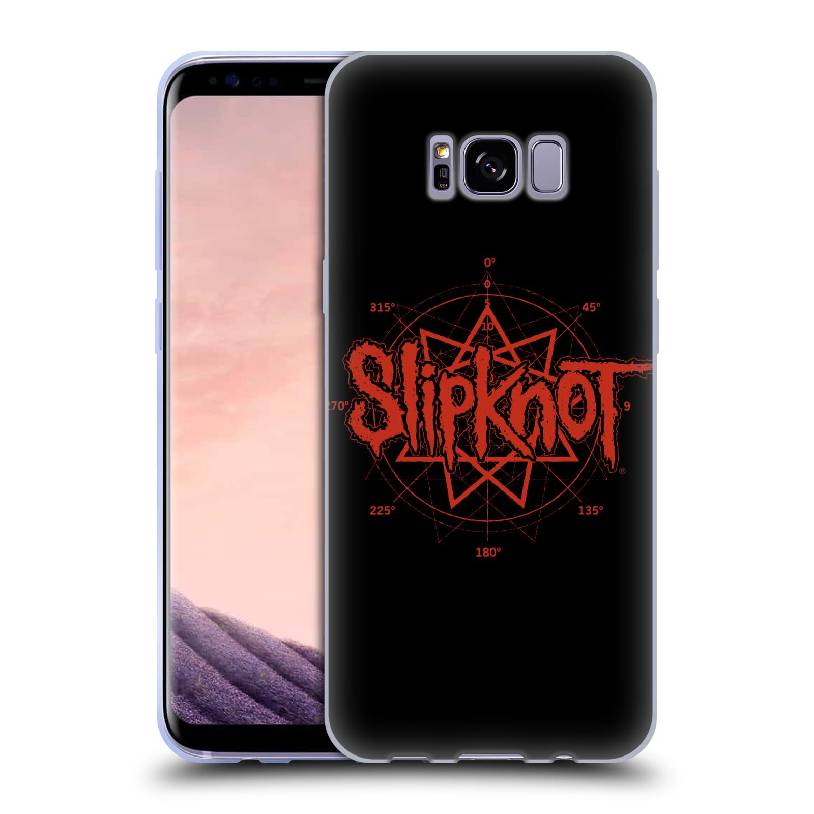 HEAD CASE silikonový obal na mobil Samsung Galaxy S8 PLUS hudební skupina Slipknot logo
