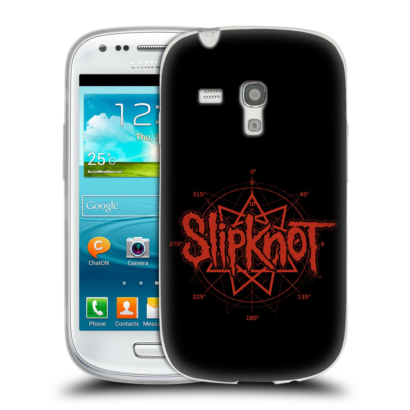 HEAD CASE silikonový obal na mobil Samsung Galaxy S3 MINI hudební skupina Slipknot logo