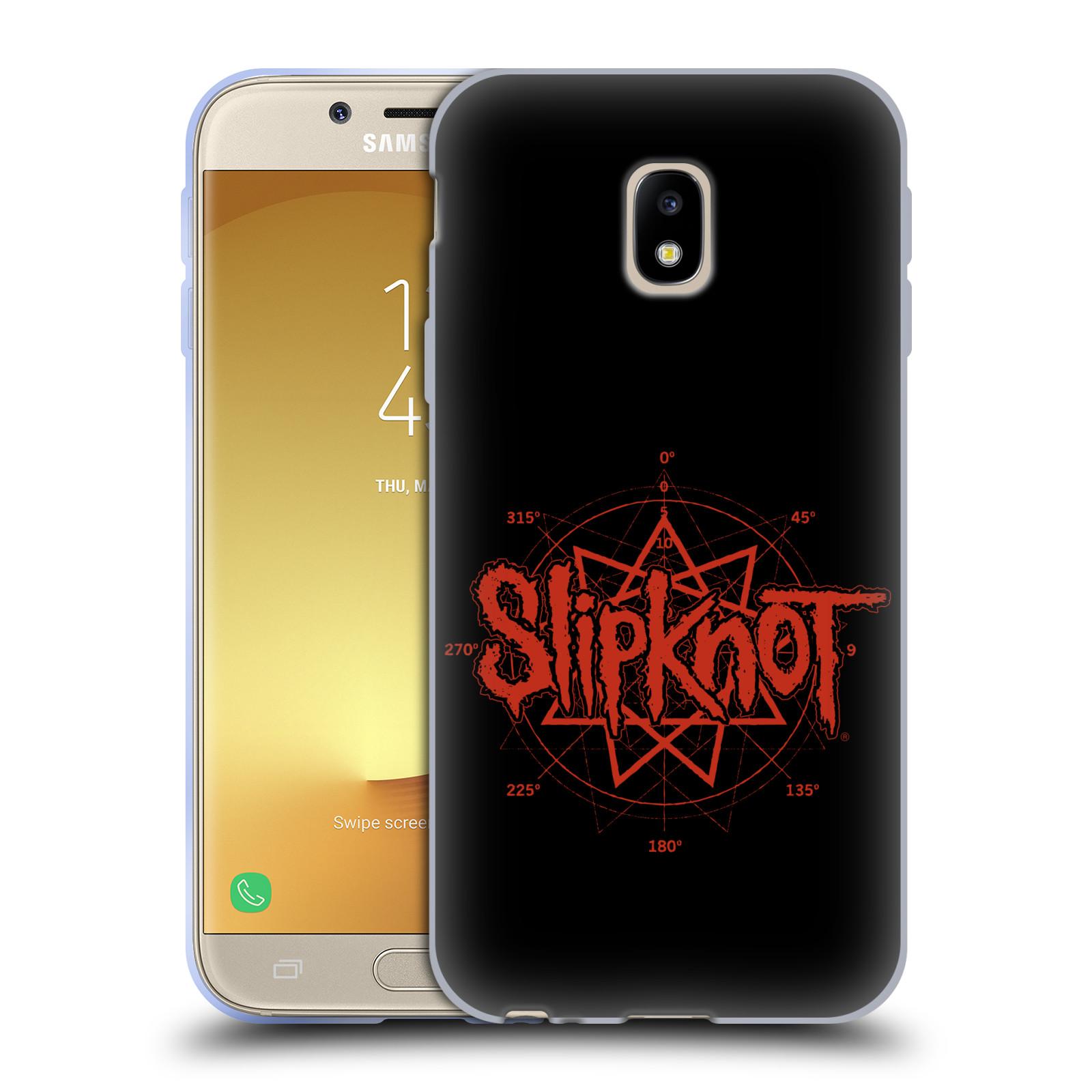HEAD CASE silikonový obal na mobil Samsung Galaxy J3 2017 (J330, J330F) hudební skupina Slipknot logo
