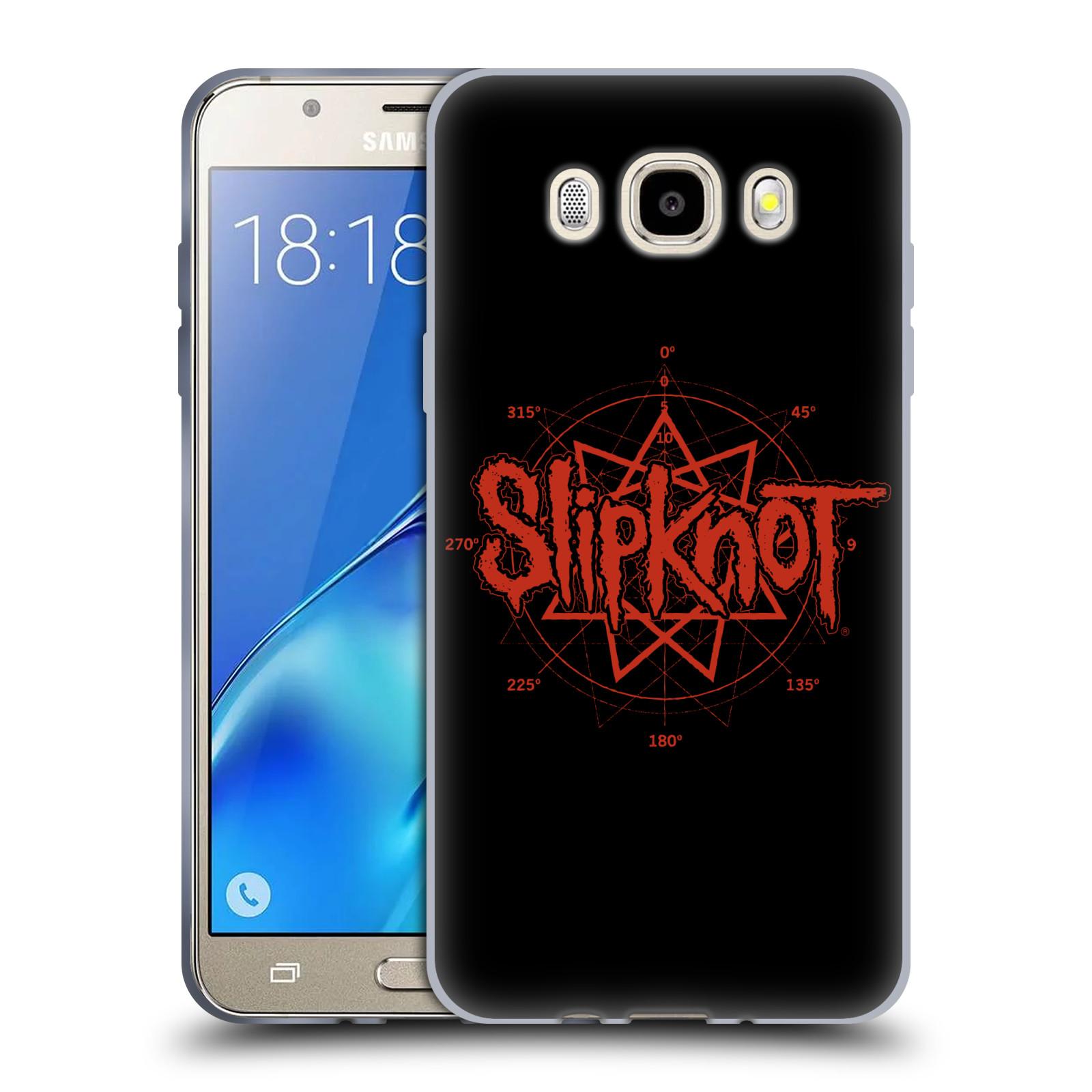 HEAD CASE silikonový obal na mobil Samsung Galaxy J5 2016 (J510) hudební skupina Slipknot logo