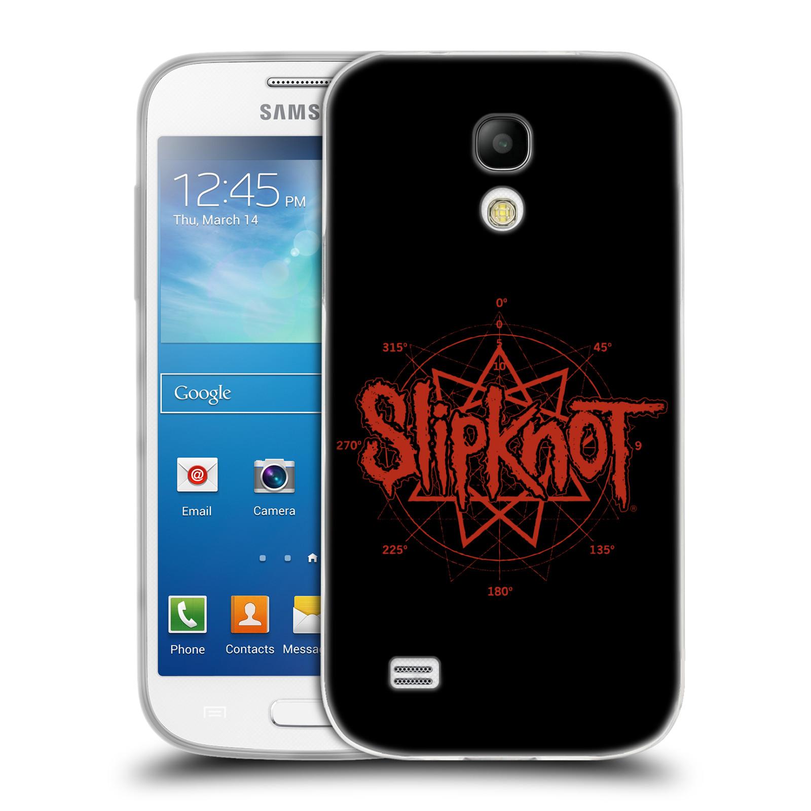HEAD CASE silikonový obal na mobil Samsung Galaxy S4 MINI hudební skupina Slipknot logo