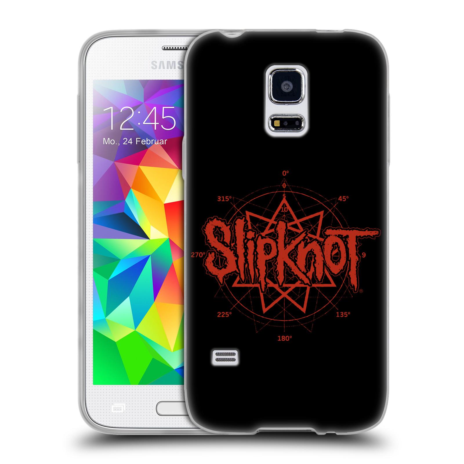 HEAD CASE silikonový obal na mobil Samsung Galaxy S5 MINI hudební skupina Slipknot logo
