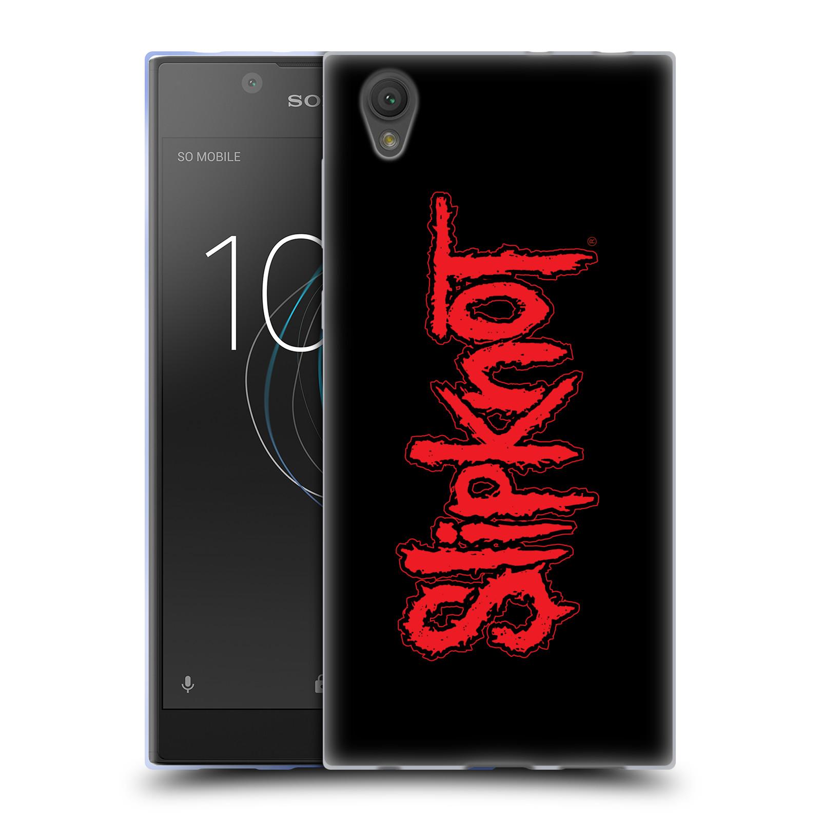 HEAD CASE silikonový obal na mobil Sony Xperia L1 hudební skupina Slipknot logo velké