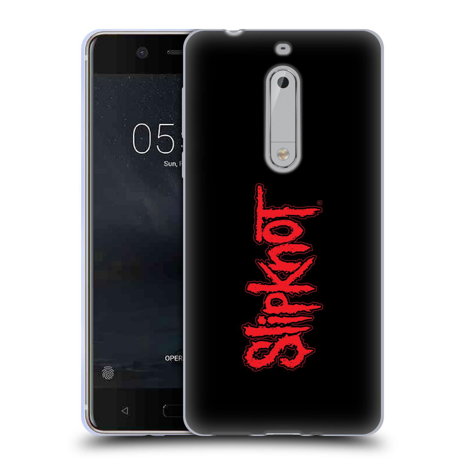 HEAD CASE silikonový obal na mobil Nokia 5 hudební skupina Slipknot logo velké