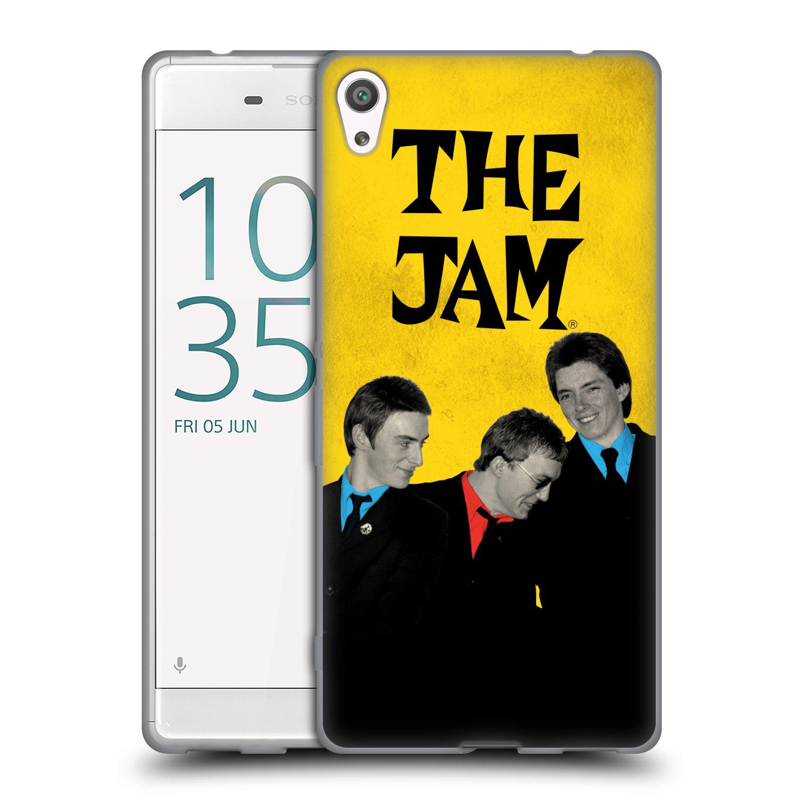HEAD CASE silikonový obal na mobil Sony Xperia XA ULTRA skupina The Jam