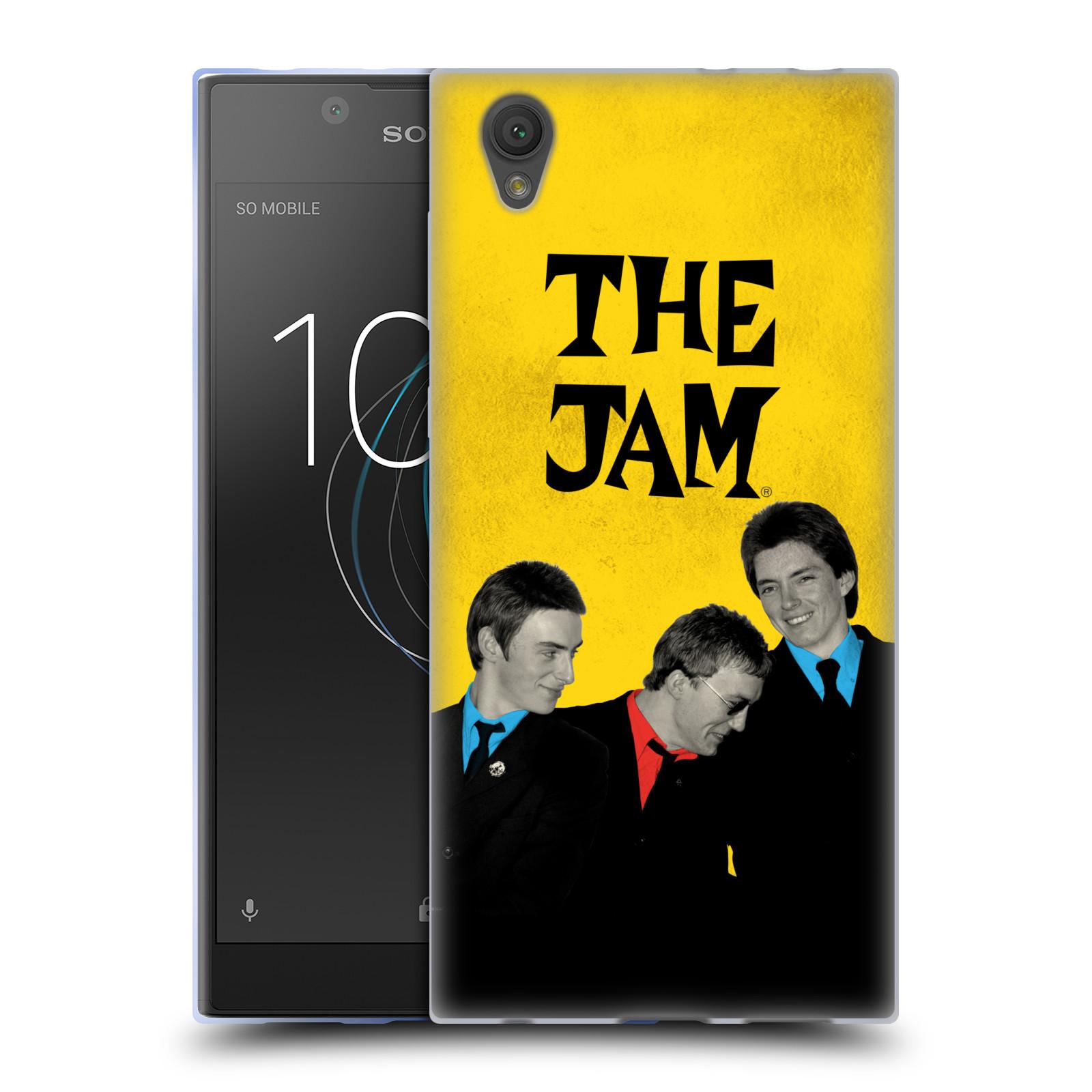 HEAD CASE silikonový obal na mobil Sony Xperia L1 skupina The Jam