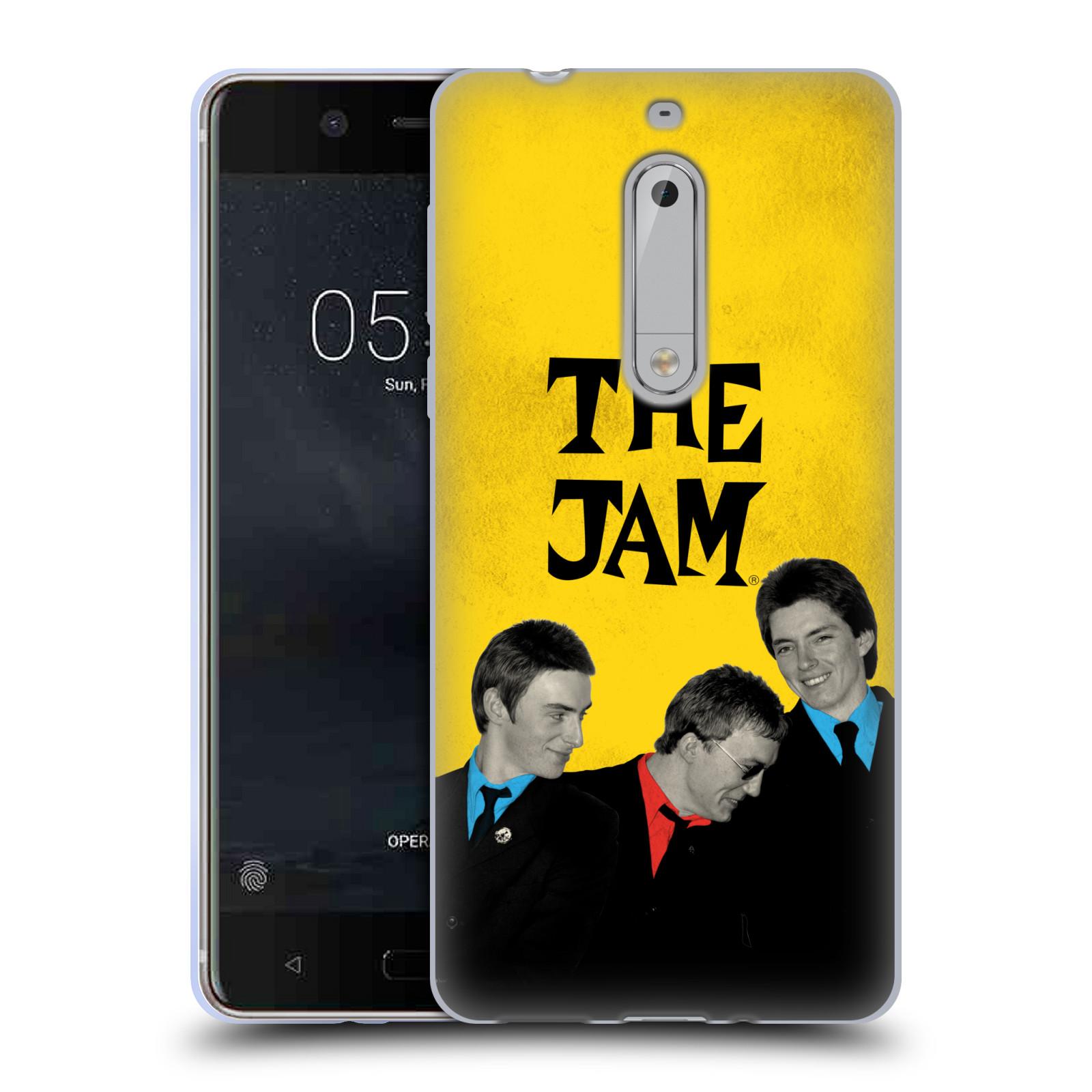 HEAD CASE silikonový obal na mobil Nokia 5 skupina The Jam