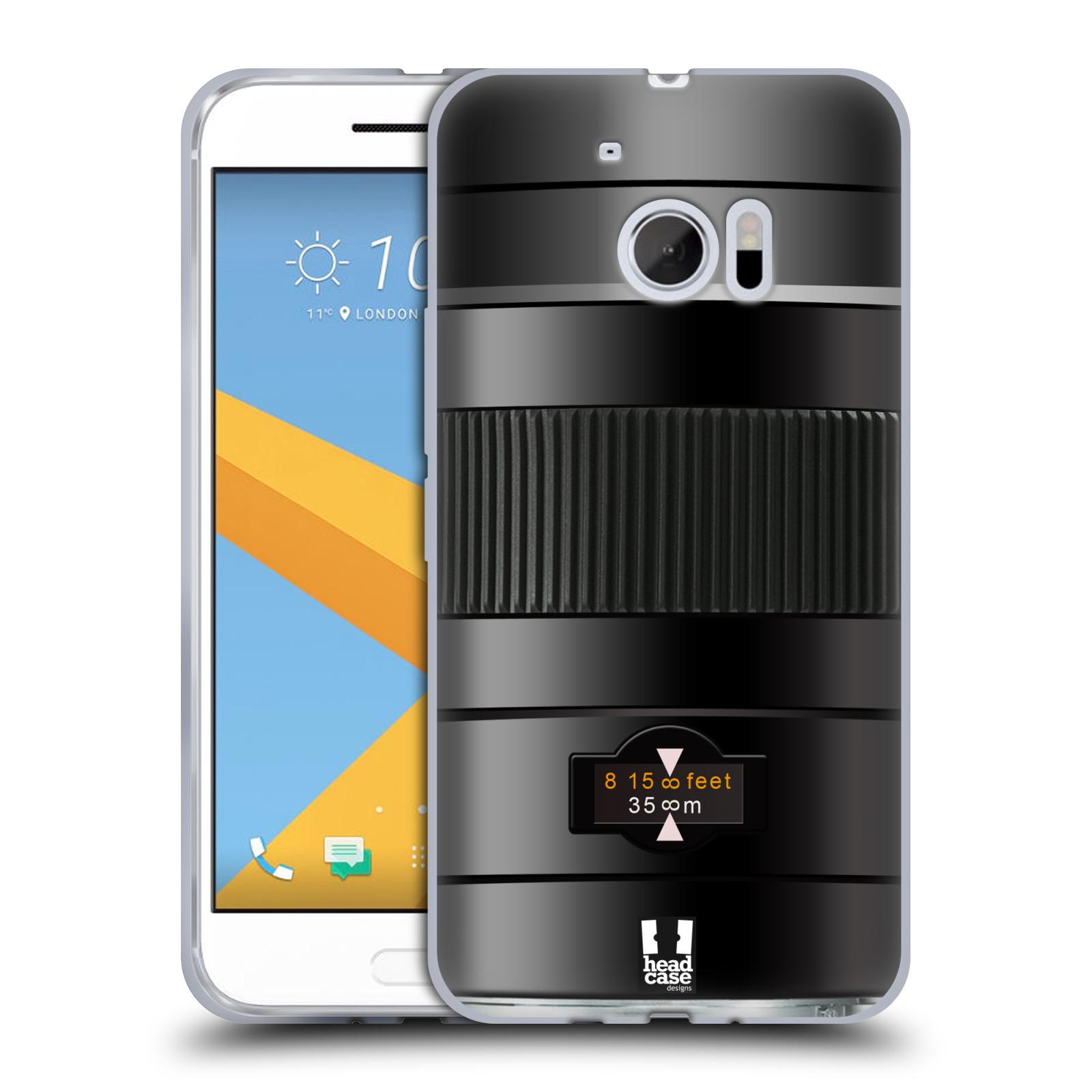 head case designs camera lens soft gel case for htc 10. Black Bedroom Furniture Sets. Home Design Ideas