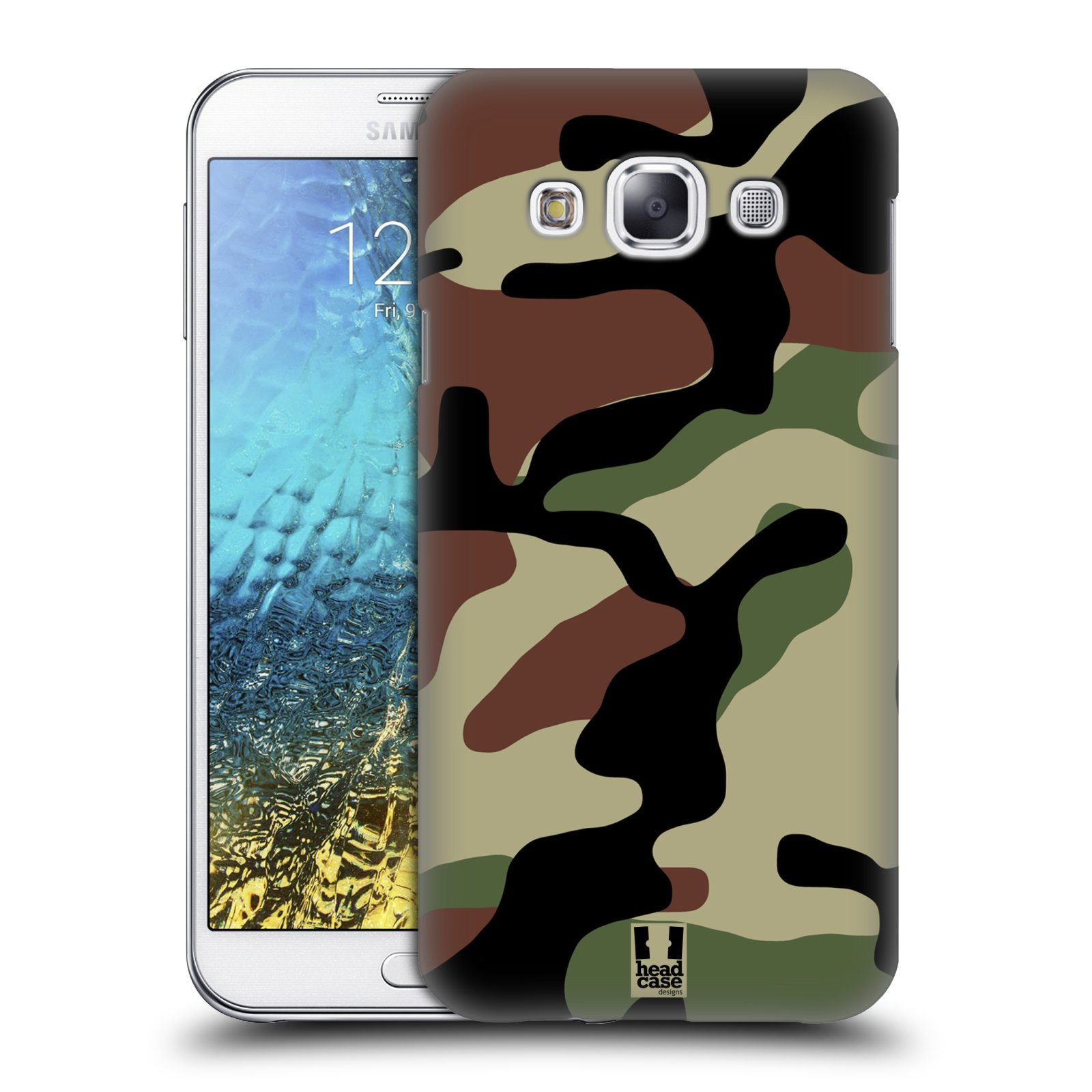 Head case designs military camo hard back case for samsung for Cell phone cover design ideas