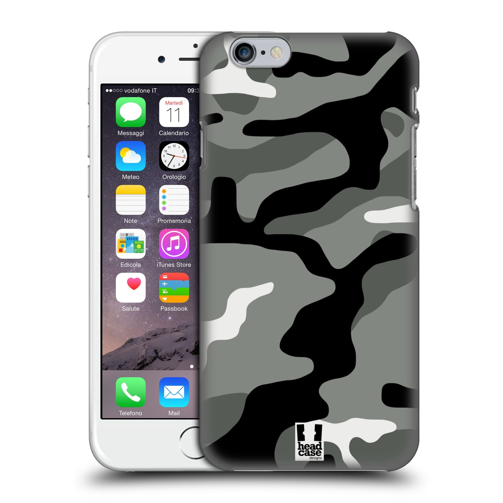 Head case designs military camo hard back case for apple for Cell phone cover design ideas