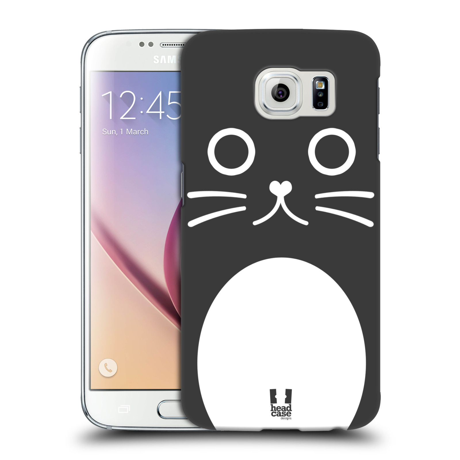 HEAD CASE plastový obal na mobil SAMSUNG Galaxy S6 (G9200, G920F) vzor Cartoon Karikatura kreslená zvířátka kočka