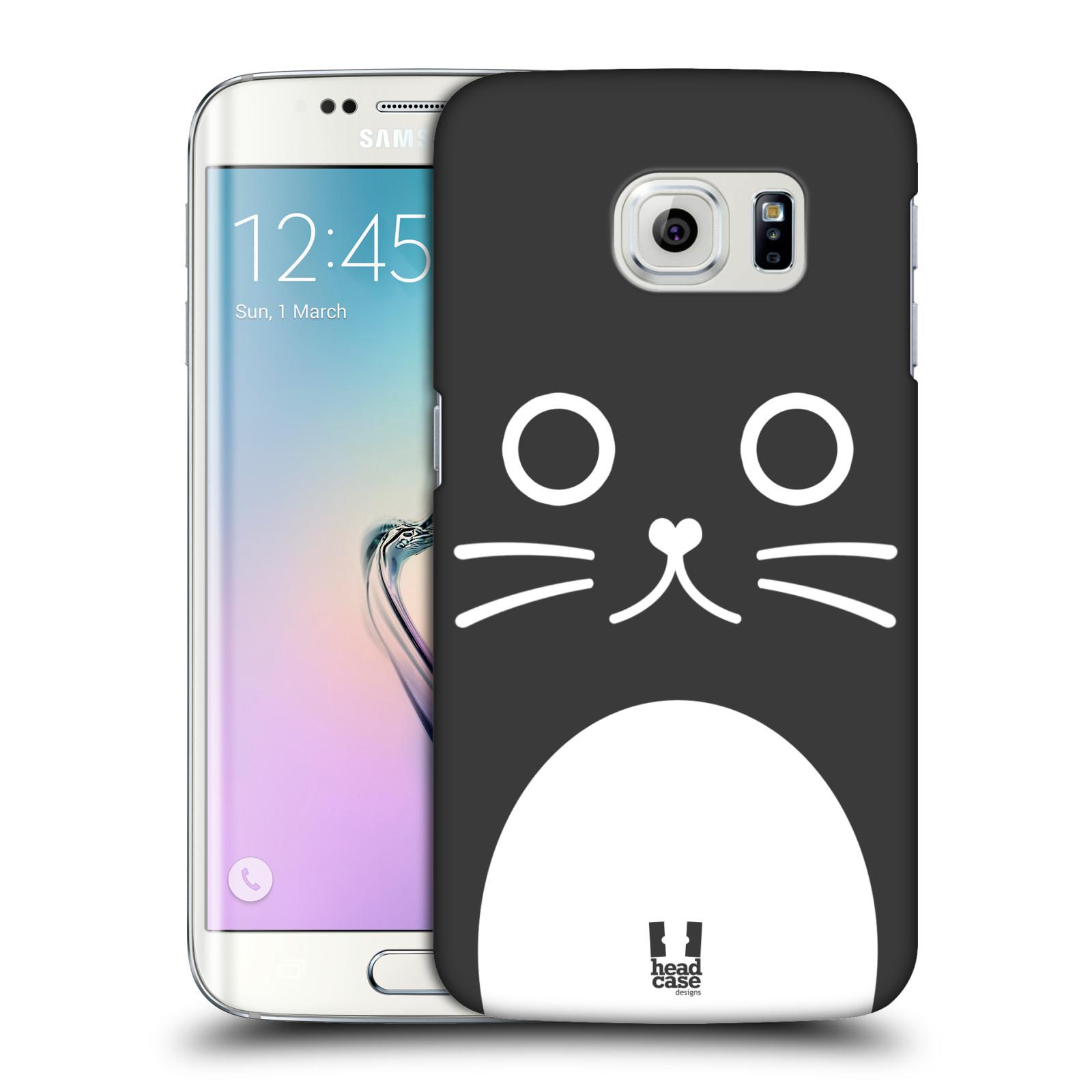 HEAD CASE plastový obal na mobil SAMSUNG Galaxy S6 EDGE (G9250, G925, G925F) vzor Cartoon Karikatura kreslená zvířátka kočka