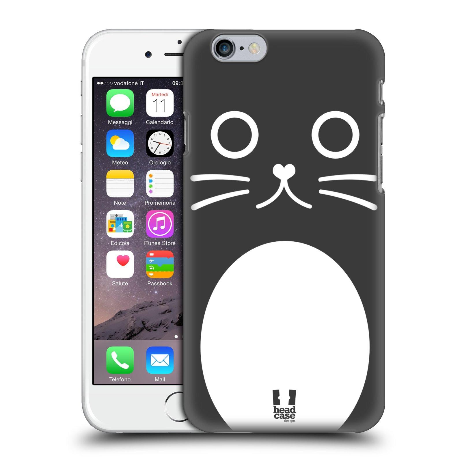 Plastové pouzdro pro mobil Apple Iphone 6/6S vzor Cartoon Karikatura kreslená zvířátka kočka