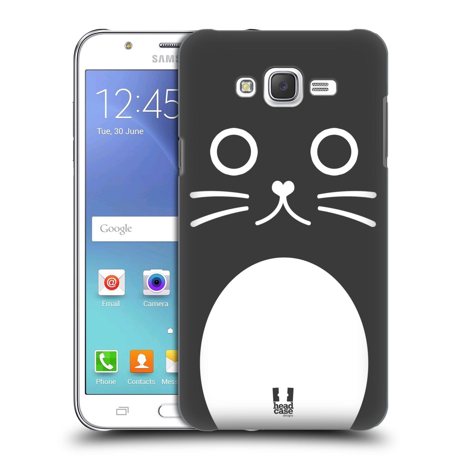 HEAD CASE plastový obal na mobil SAMSUNG Galaxy J7, J700 vzor Cartoon Karikatura kreslená zvířátka kočka
