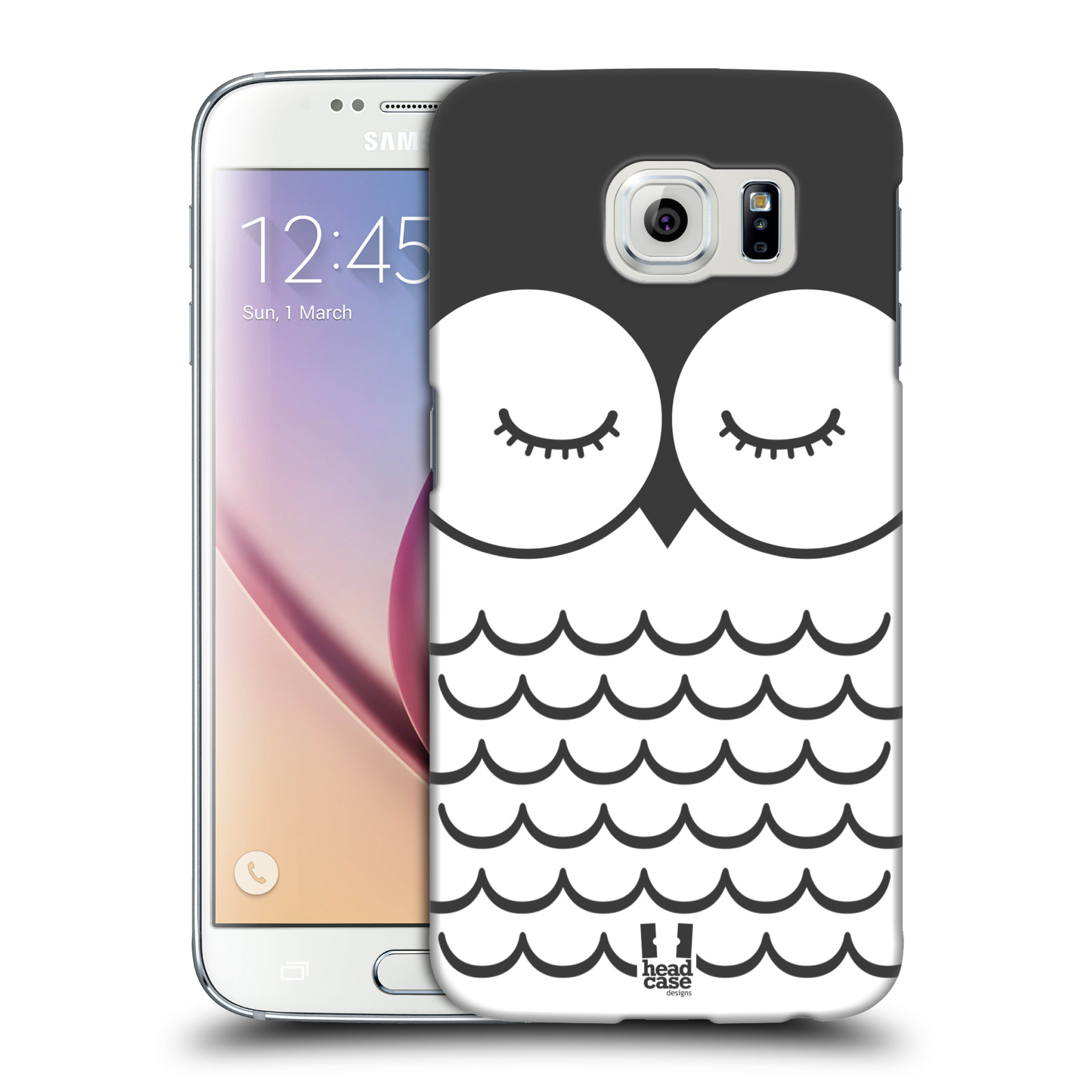 HEAD CASE plastový obal na mobil SAMSUNG Galaxy S6 (G9200, G920F) vzor Cartoon Karikatura kreslená zvířátka sova