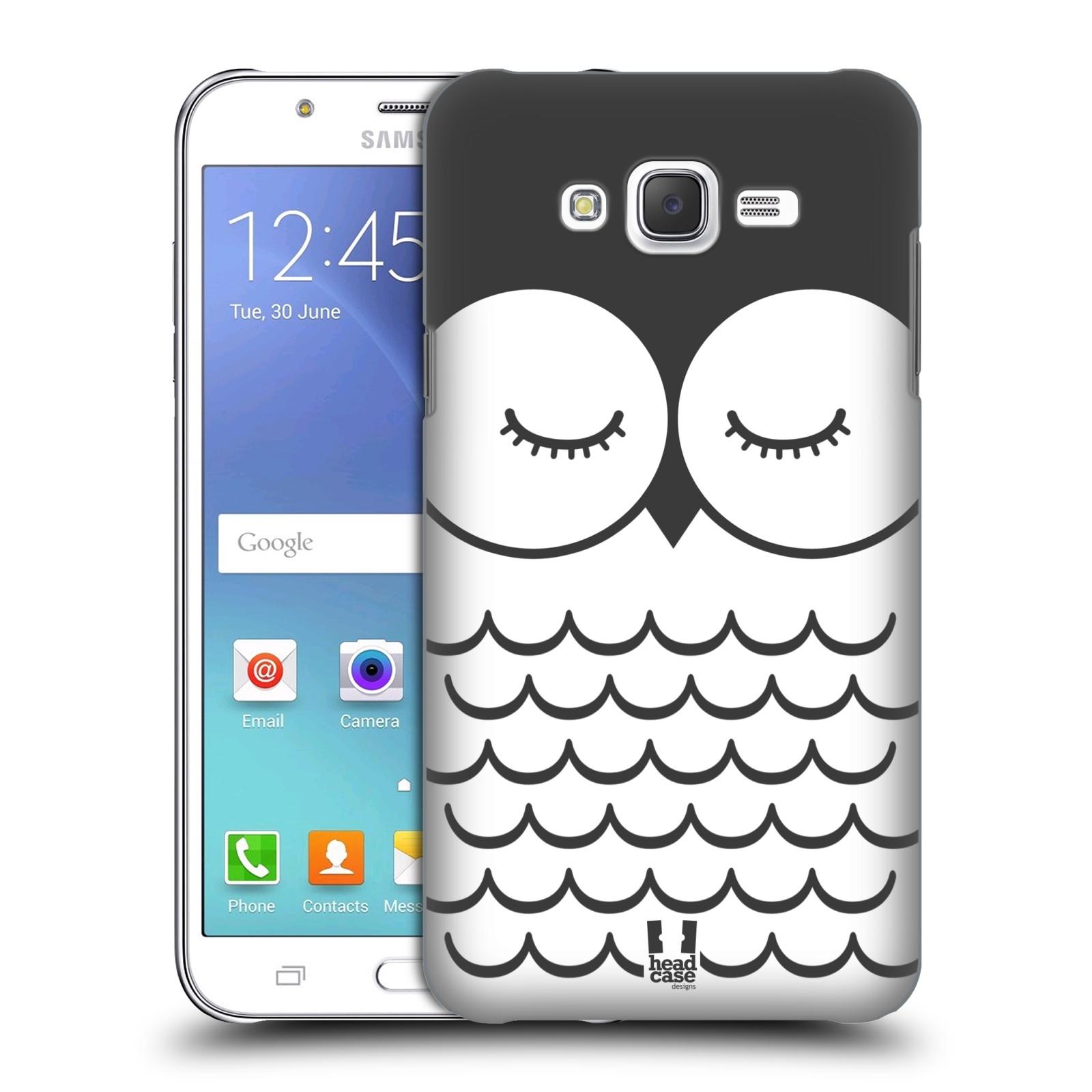 HEAD CASE plastový obal na mobil SAMSUNG Galaxy J7, J700 vzor Cartoon Karikatura kreslená zvířátka sova
