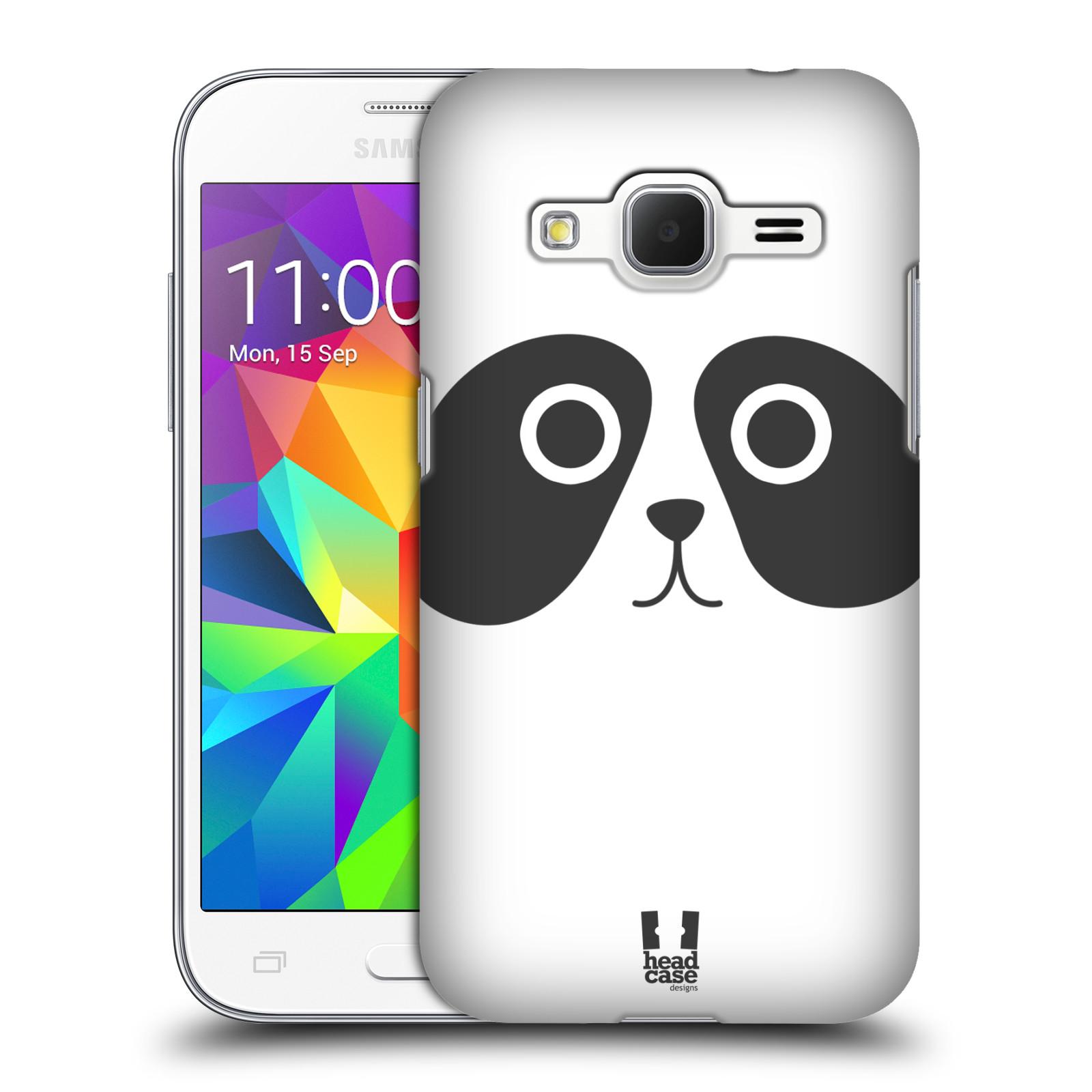 HEAD CASE plastový obal na mobil SAMSUNG GALAXY Core Prime (Core Prime VE) vzor Cartoon Karikatura kreslená zvířátka panda
