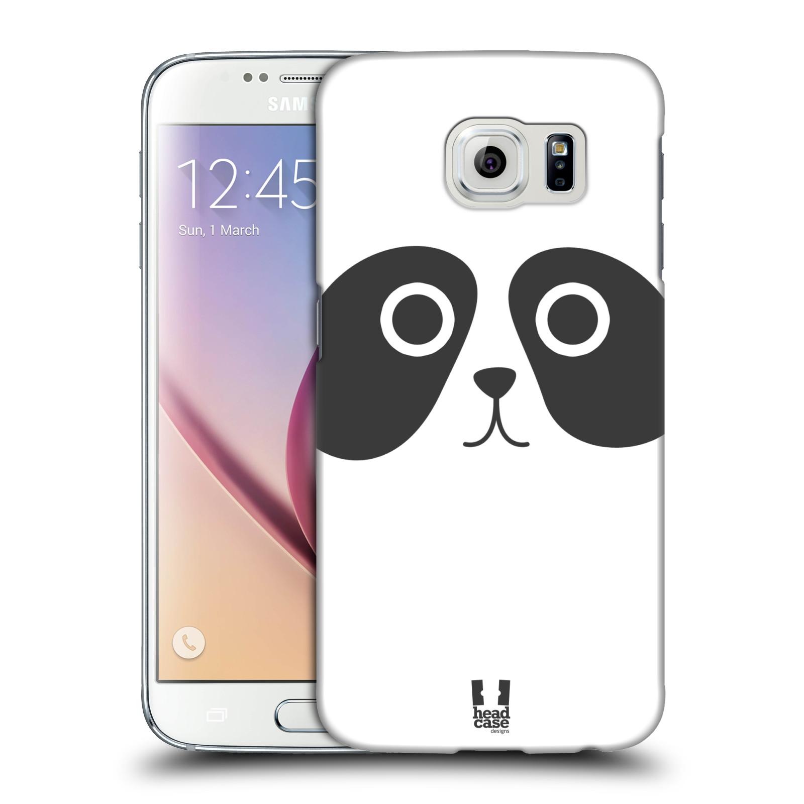 HEAD CASE plastový obal na mobil SAMSUNG Galaxy S6 (G9200, G920F) vzor Cartoon Karikatura kreslená zvířátka panda