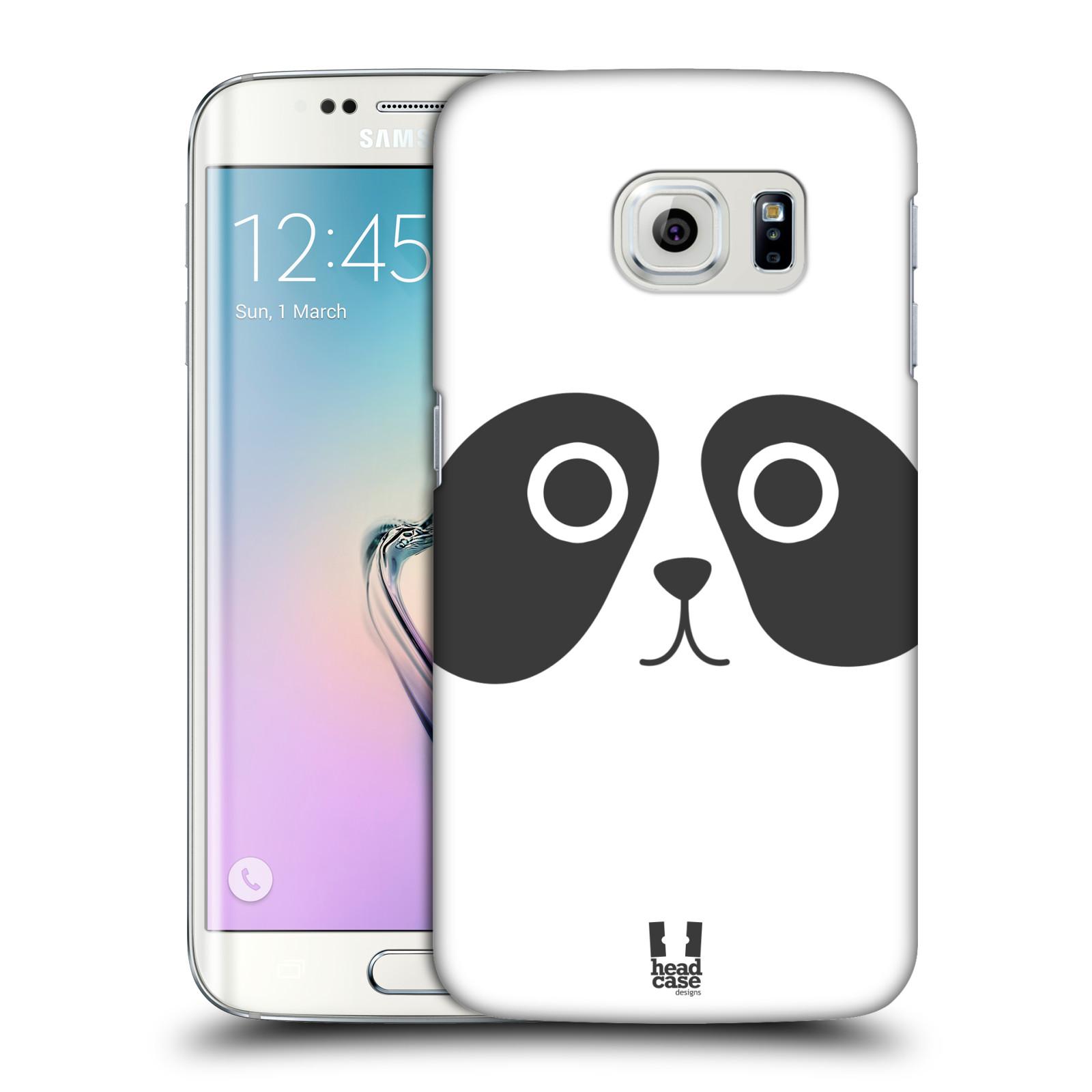 HEAD CASE plastový obal na mobil SAMSUNG Galaxy S6 EDGE (G9250, G925, G925F) vzor Cartoon Karikatura kreslená zvířátka panda