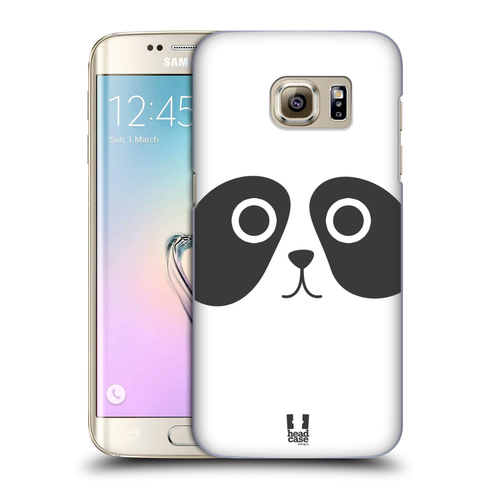 HEAD CASE plastový obal na mobil SAMSUNG GALAXY S7 EDGE vzor Cartoon Karikatura kreslená zvířátka panda