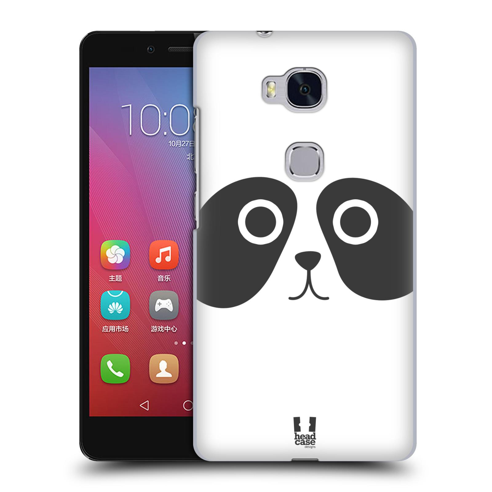 HEAD CASE pevný plastový obal na mobil HUAWEI HONOR 5X vzor Cartoon Karikatura kreslená zvířátka panda
