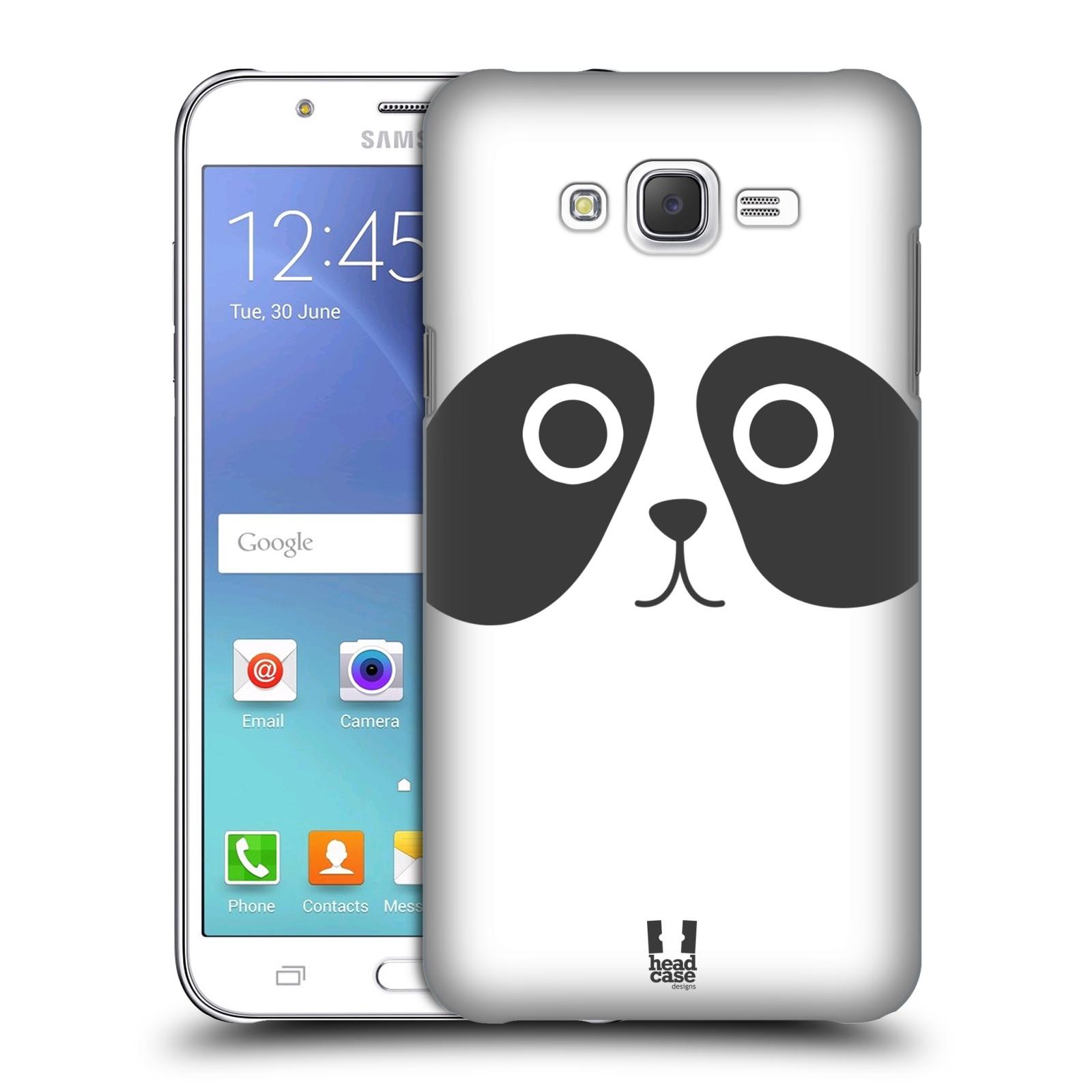 HEAD CASE plastový obal na mobil SAMSUNG Galaxy J7, J700 vzor Cartoon Karikatura kreslená zvířátka panda