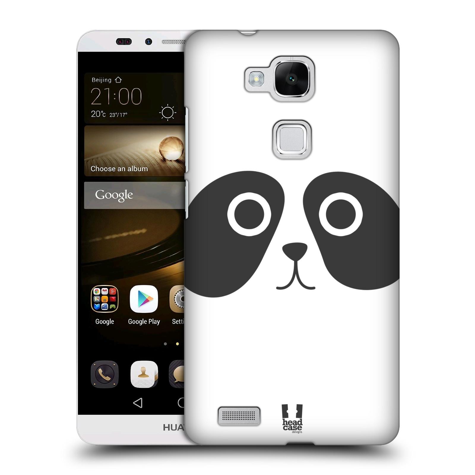 HEAD CASE plastový obal na mobil Huawei Mate 7 vzor Cartoon Karikatura kreslená zvířátka panda