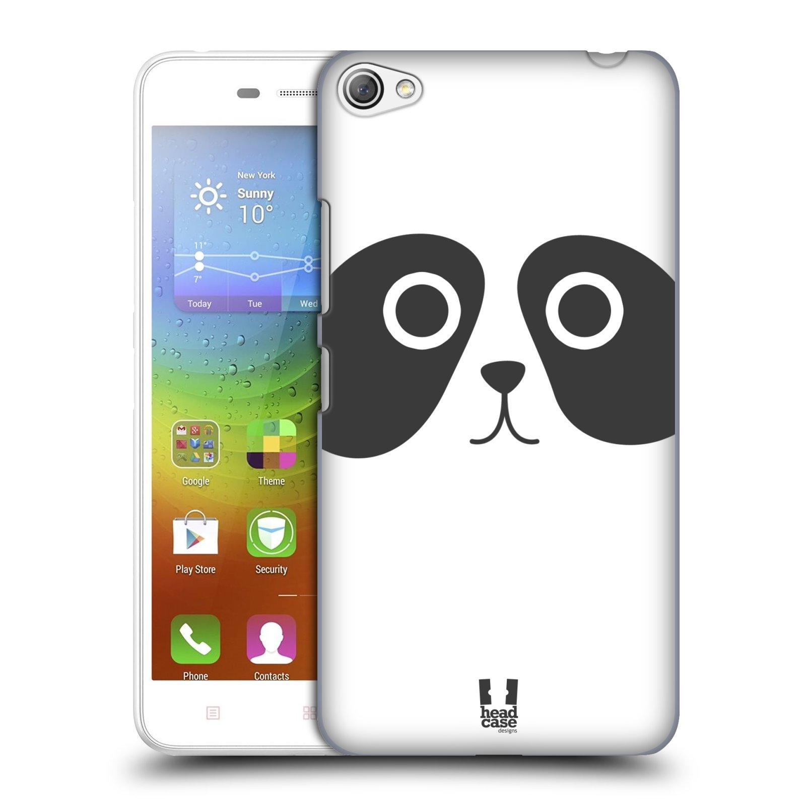 HEAD CASE pevný plastový obal na mobil LENOVO S60 / LENOVO S60 DUAL SIM vzor Cartoon Karikatura kreslená zvířátka panda