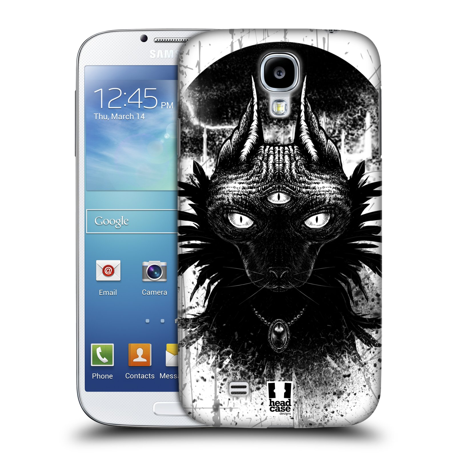 HEAD CASE CATS OF GOTH SNAP-ON BACK COVER FOR SAMSUNG GALAXY S4 I9500