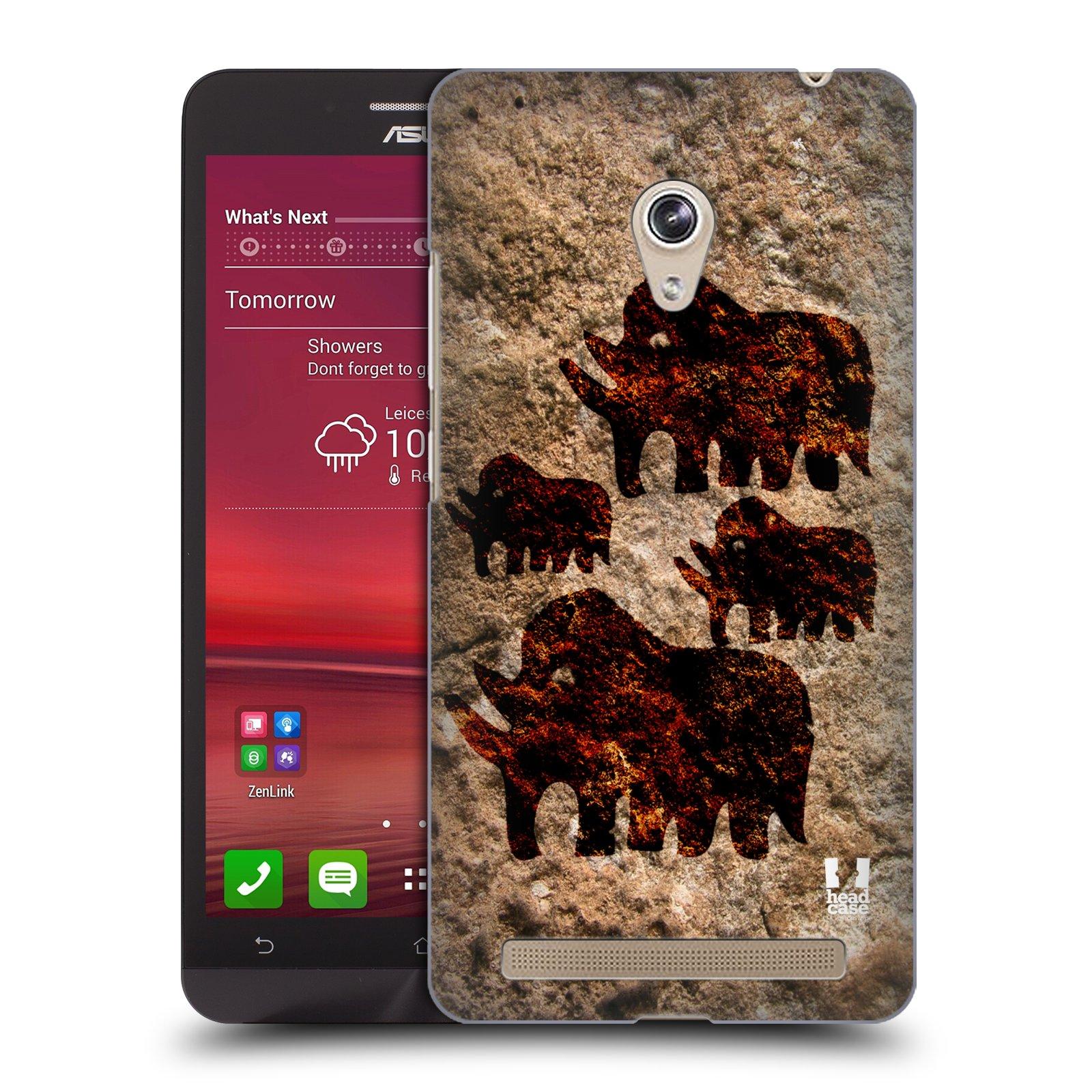 HEAD CASE plastový obal na mobil Asus Zenfone 6 vzor Pravěké malby MAMUT