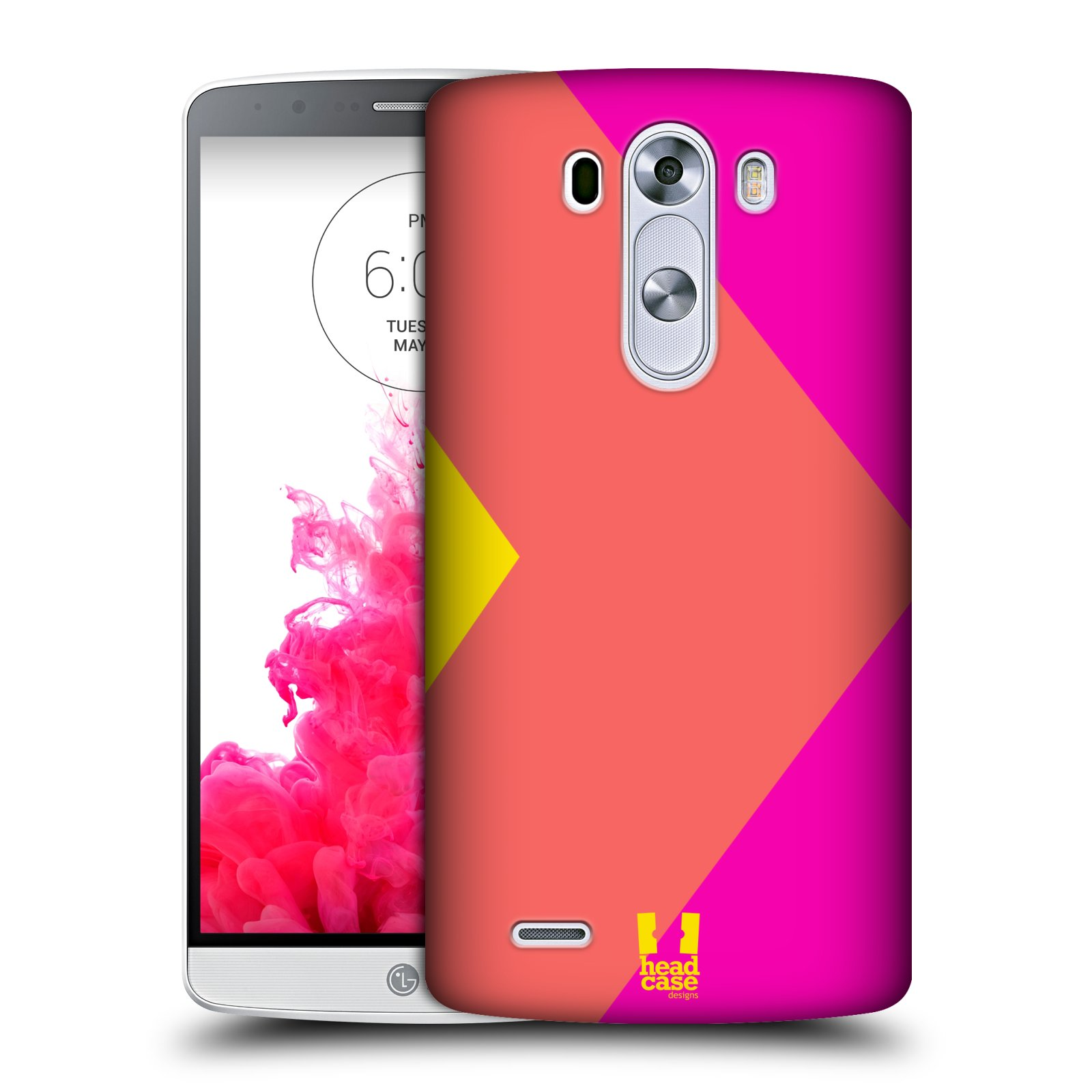 HEAD CASE DESIGNS COLOUR BLOCKING HARD BACK CASE FOR LG PHONES 1