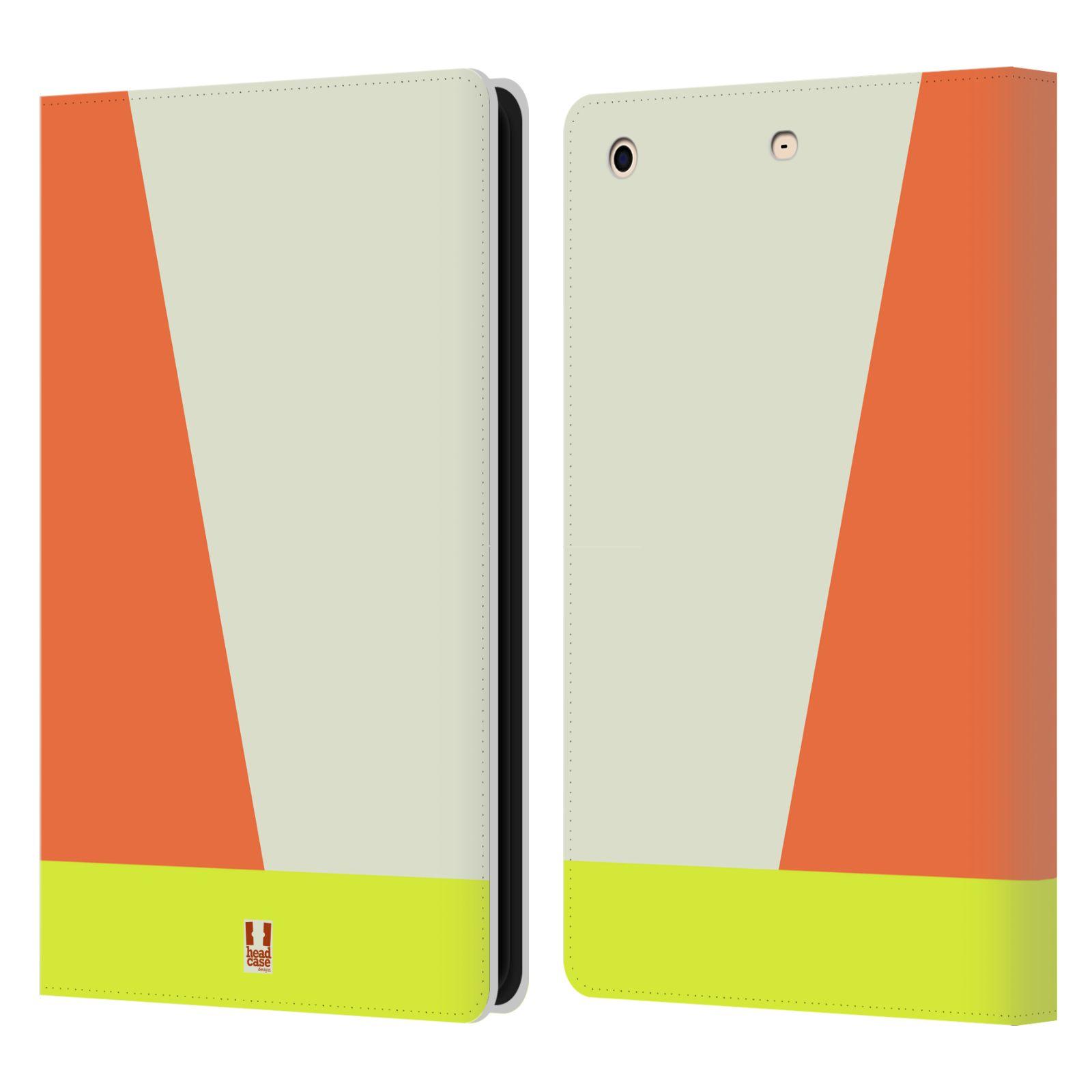 HEAD CASE Flipové pouzdro pro tablet Apple iPad mini barevné tvary slonová kost