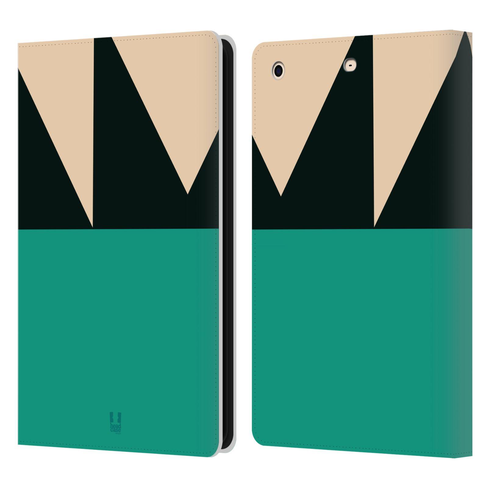 HEAD CASE Flipové pouzdro pro tablet Apple iPad mini barevné tvary moře modrá