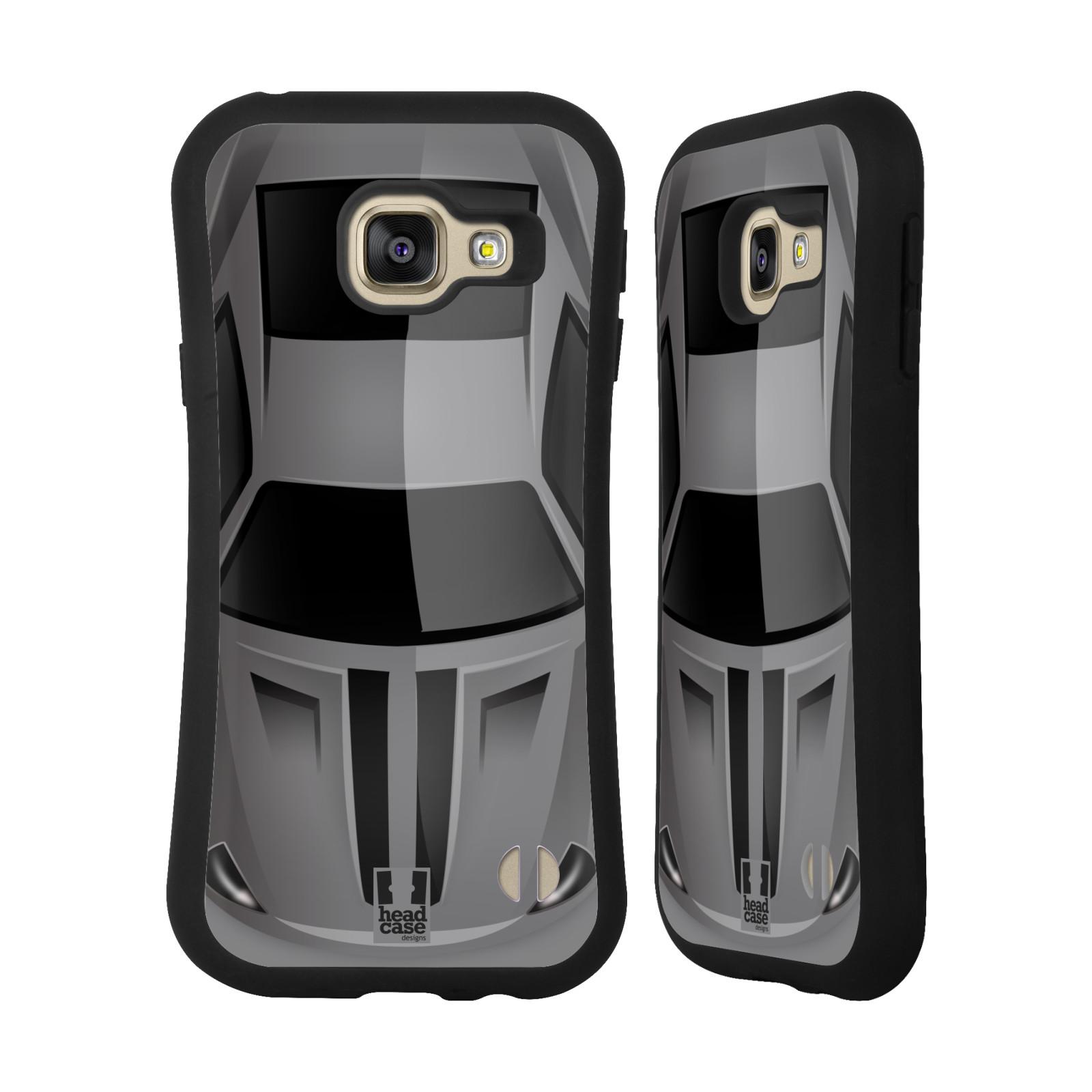 77226fda9 HEAD CASE silikon/plast odolný obal na mobil Samsung Galaxy A3 2016 vzor  Auto horní empty