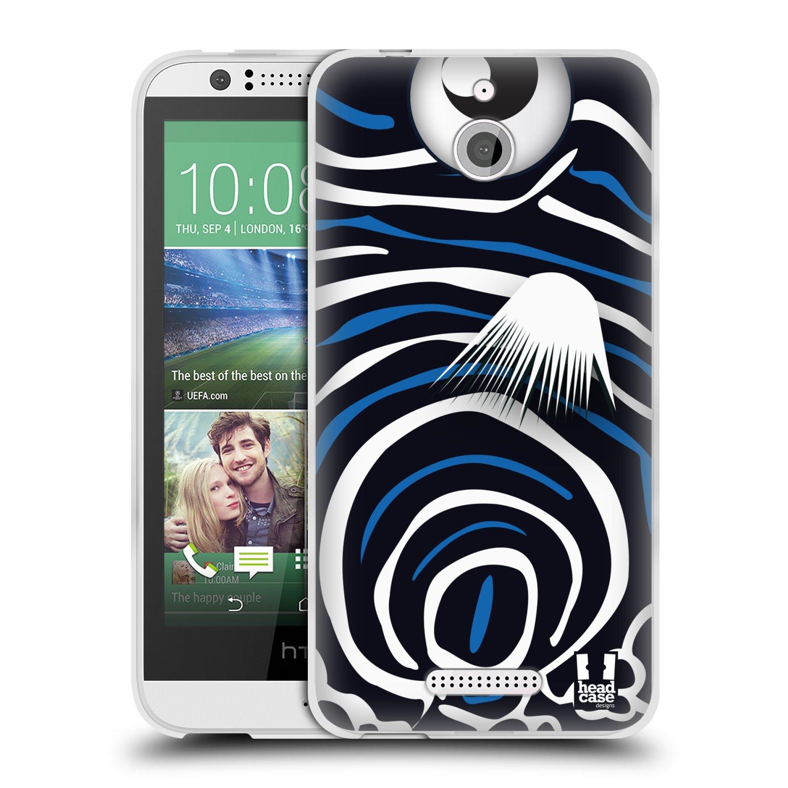 HEAD CASE silikonový obal HTC DESIRE 510 vzor Rybičky z profilu Angelfish