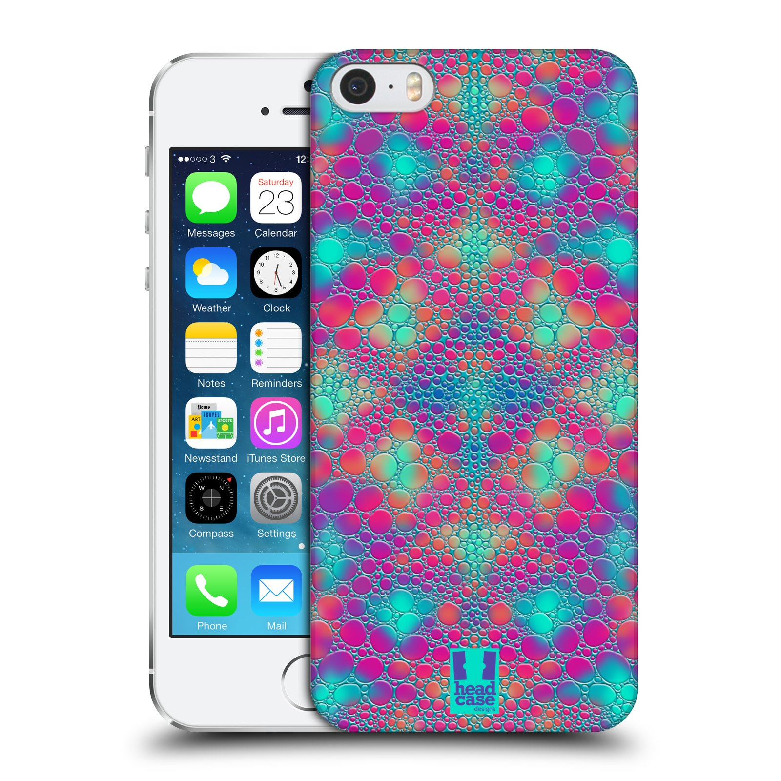 HEAD CASE DESIGNS CHAMELEON SKIN PATTERNS CASE COVER FOR APPLE iPHONE 5 5S