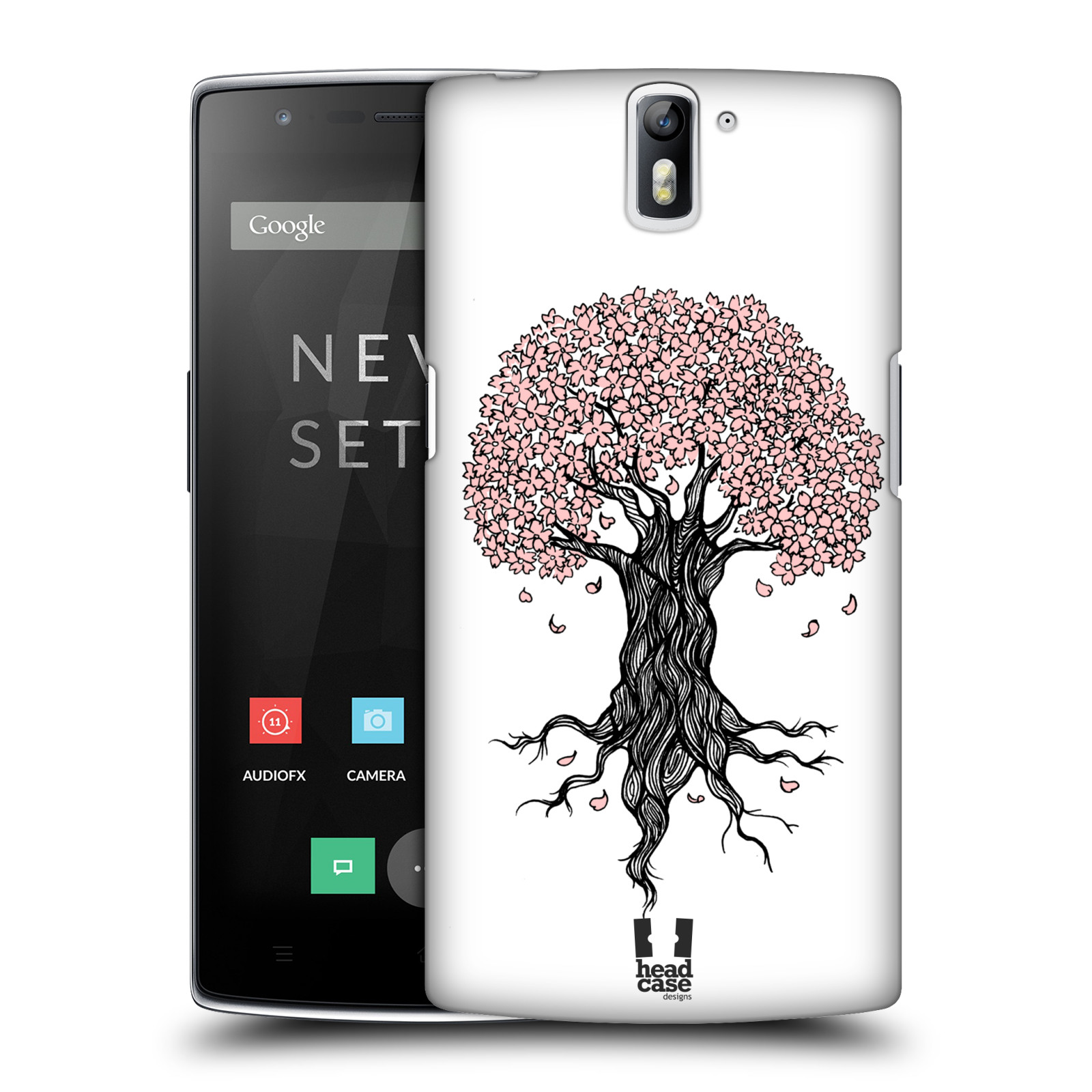 HEAD CASE DESIGNS CHERRY BLOSSOMS HARD BACK CASE FOR ONEPLUS ONE
