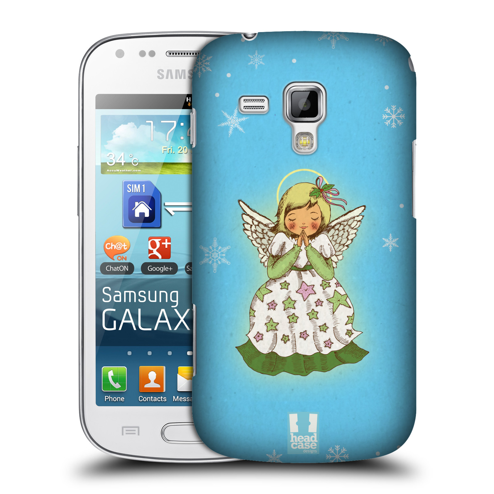 HEAD CASE DESIGNS CHRISTMAS ESSENTIALS CASE FOR SAMSUNG GALAXY TREND S7560