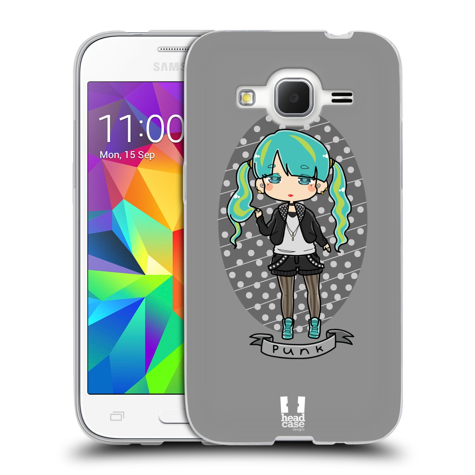 HEAD CASE STREET FASHION SILICONE GEL CASE FOR SAMSUNG GALAXY CORE PRIME G360
